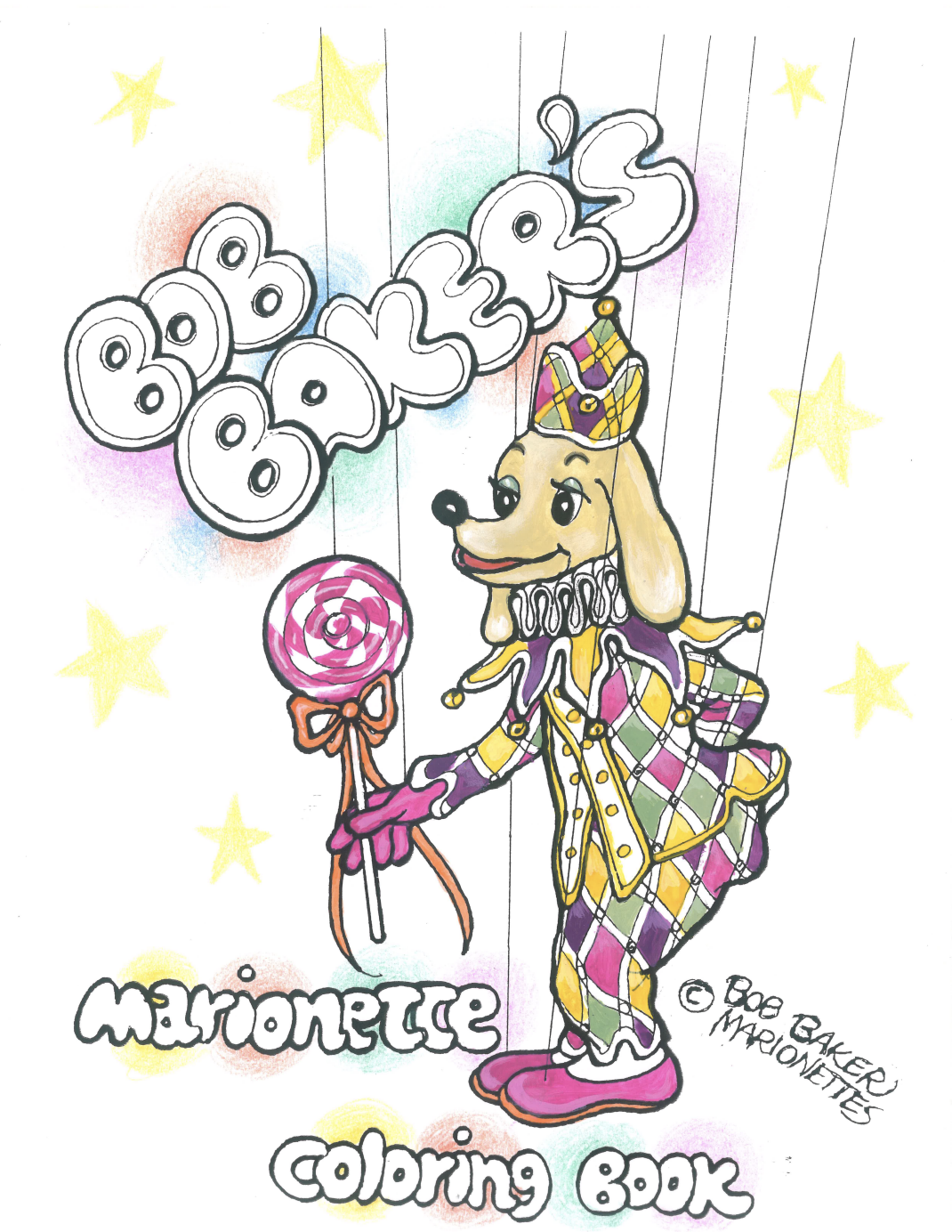 - FREE Digital Download Of Bob Baker's Marionette Coloring Book