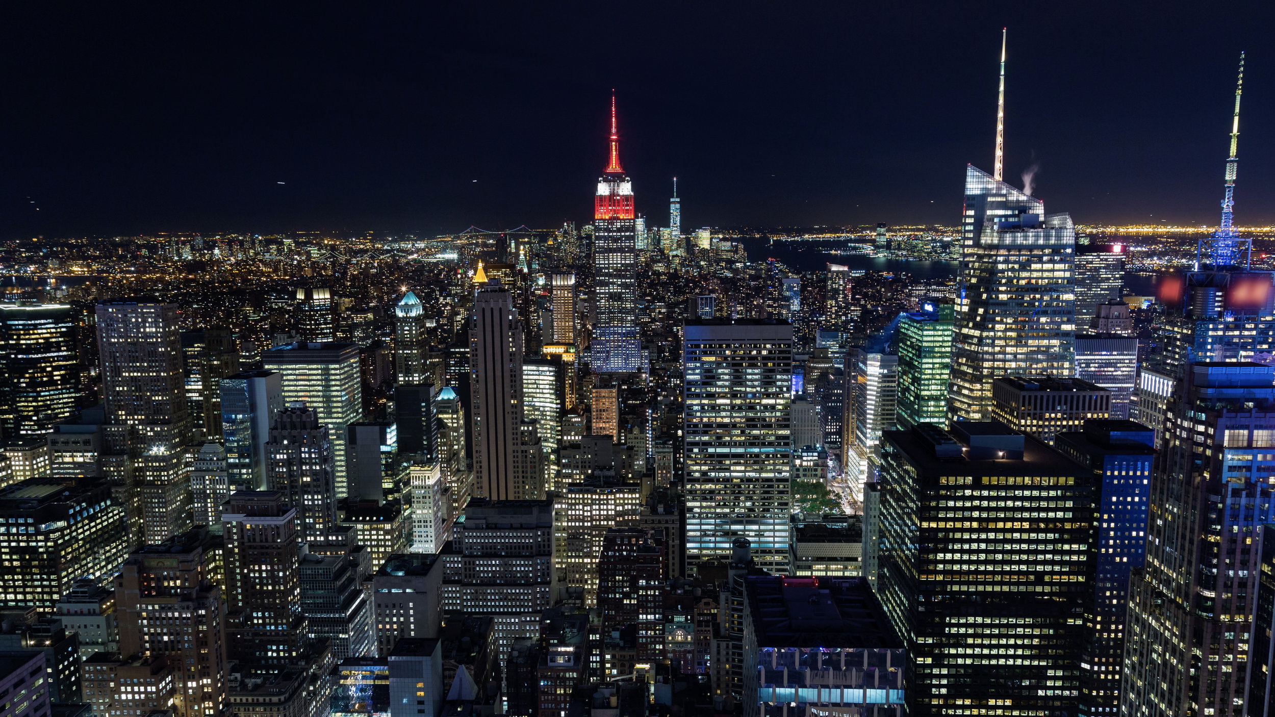 Hd New York City At Night Emeric S Timelapse
