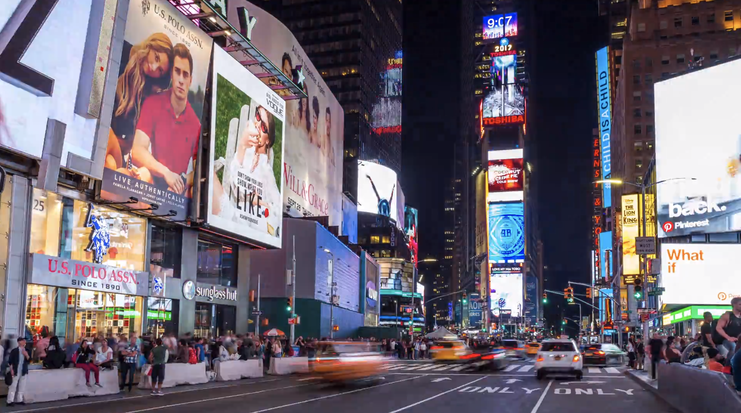 Hd Times Square New York City At Night Emeric S Timelapse