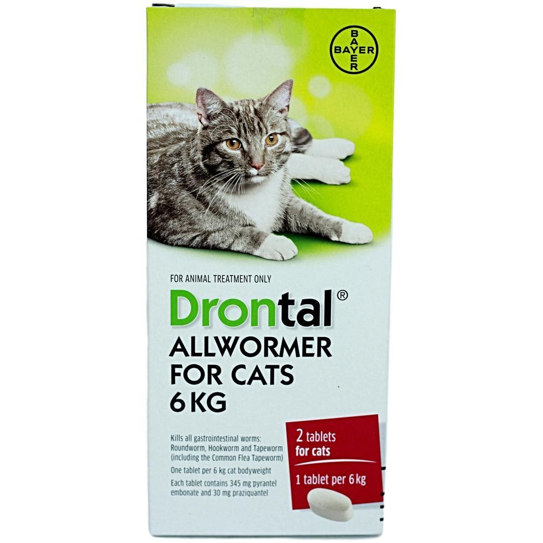 Drontal Cat AllWormer - 6kg — Your Mobile Vet Ltd