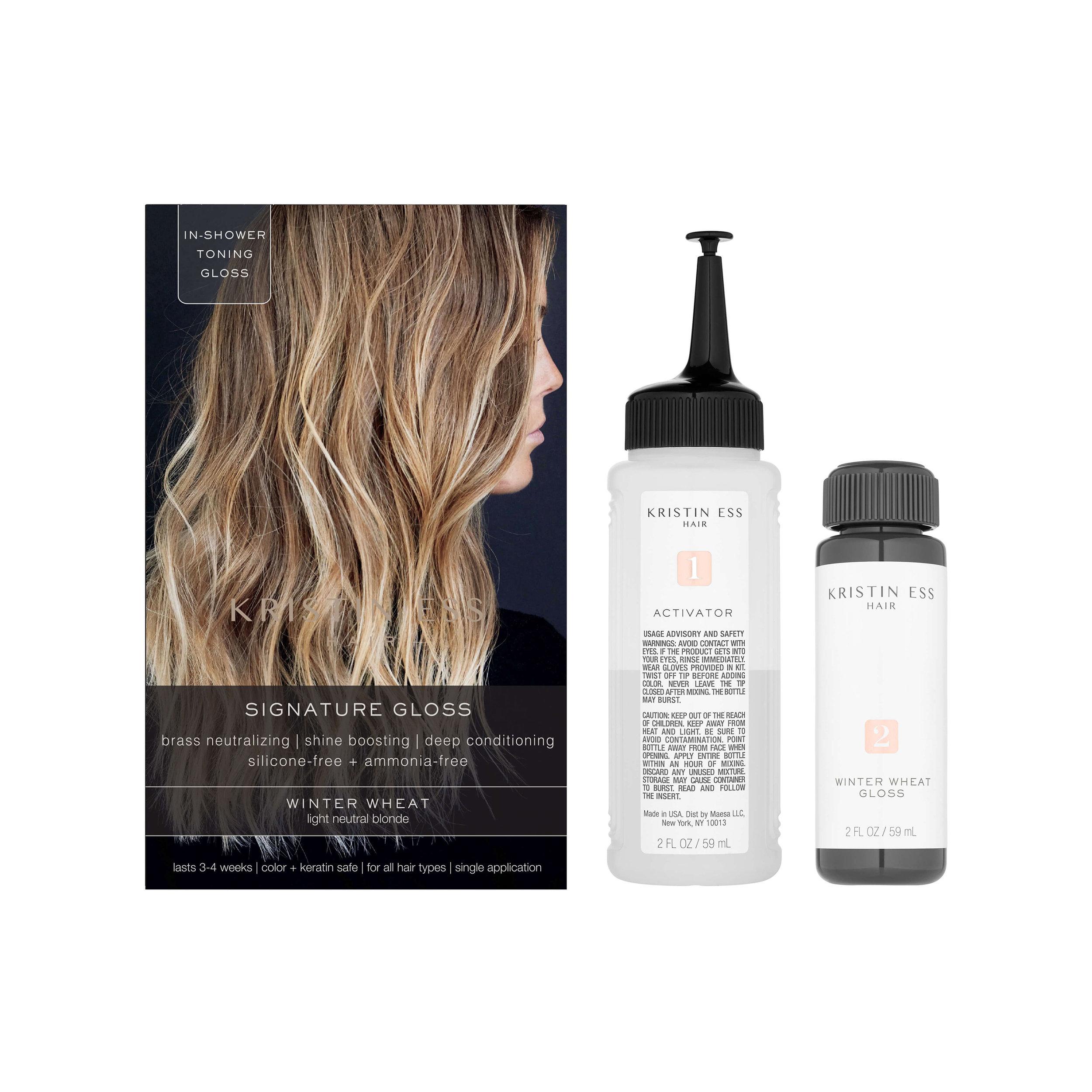Signature Hair Gloss Winter Wheat Light Neutral Blonde Kristin Ess