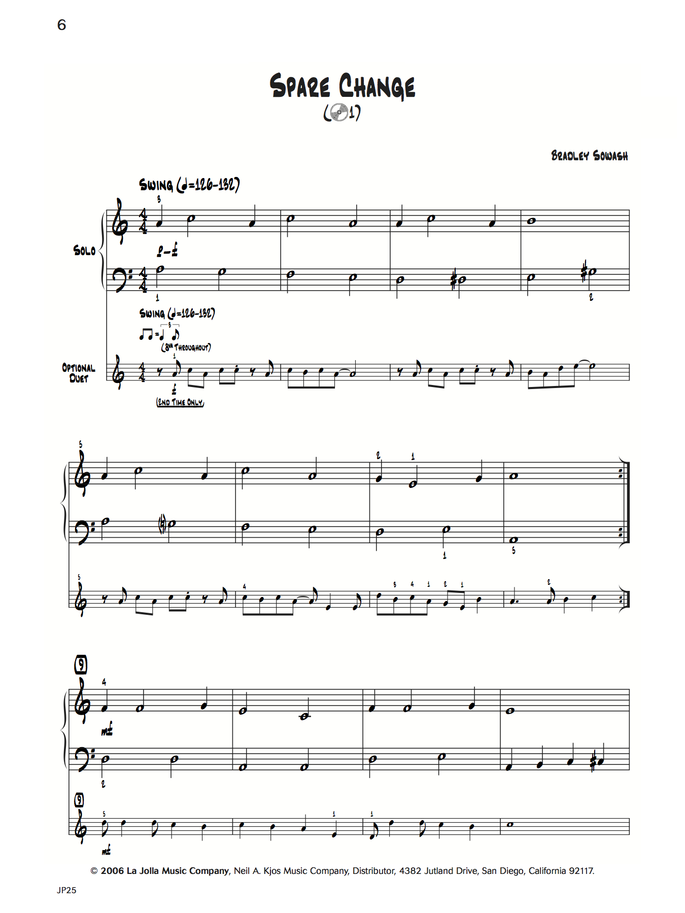 That's Jazz Method 1 - Getting Into It - hard copy — Bradley Sowash Music