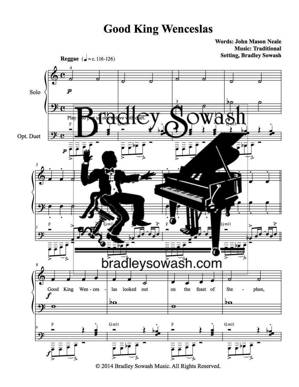 A Jazzy Christmas 1 - PDF — Bradley