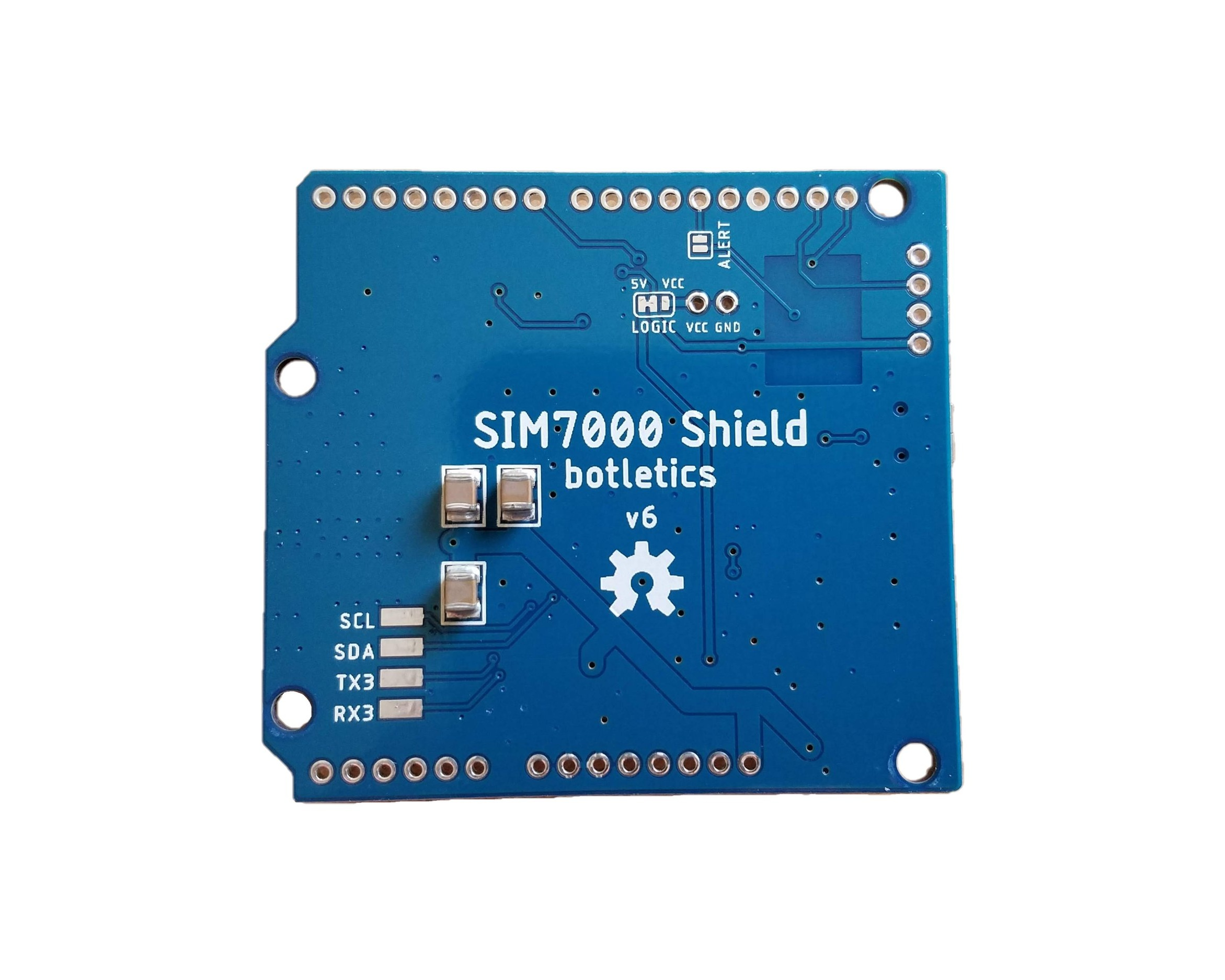 Botletics™ SIM7000 LTE CAT-M1/NB-IoT + GPS Shield Kit — Botletics