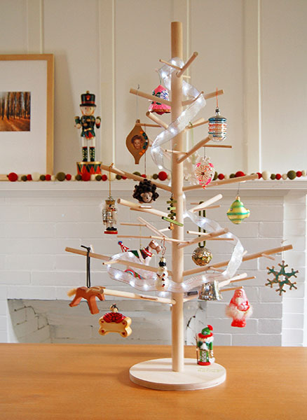Wooden Christmas Tree.3 Seedling A Reusable Wood Christmas Tree By Retreejoy The Fillery