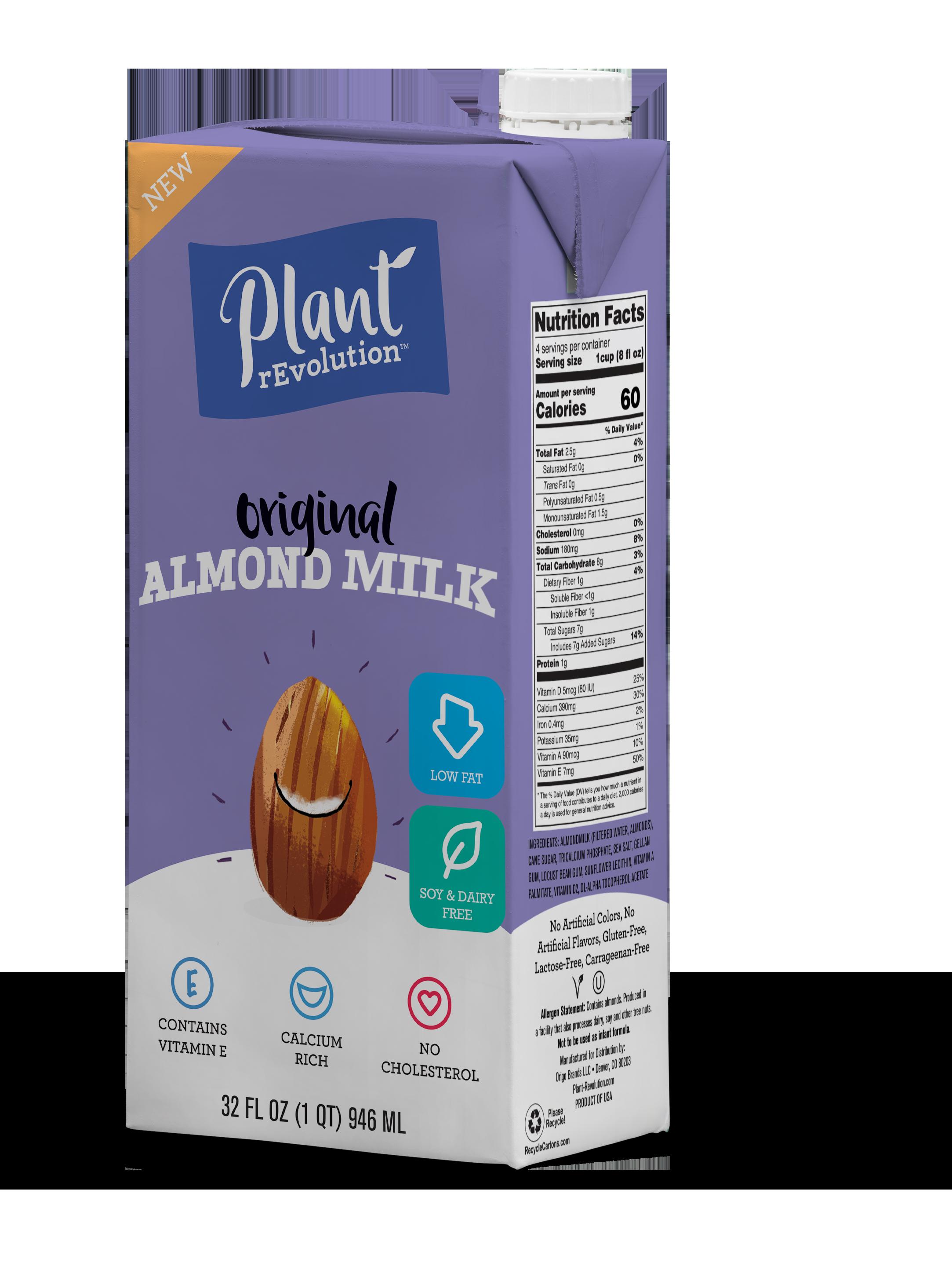 Original Almond Milk — Plant rEvolution