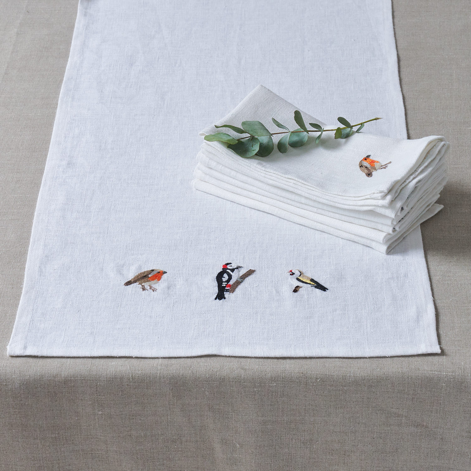 NEW: Embroidered Table Runners