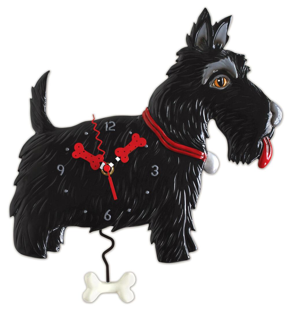 Clock Scottie Dog Butler Bailey S