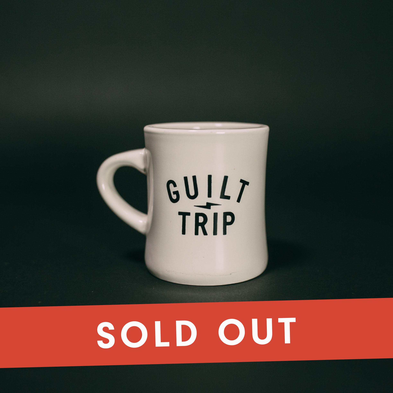 Diner Mug Guilt Trip Coffee Donuts