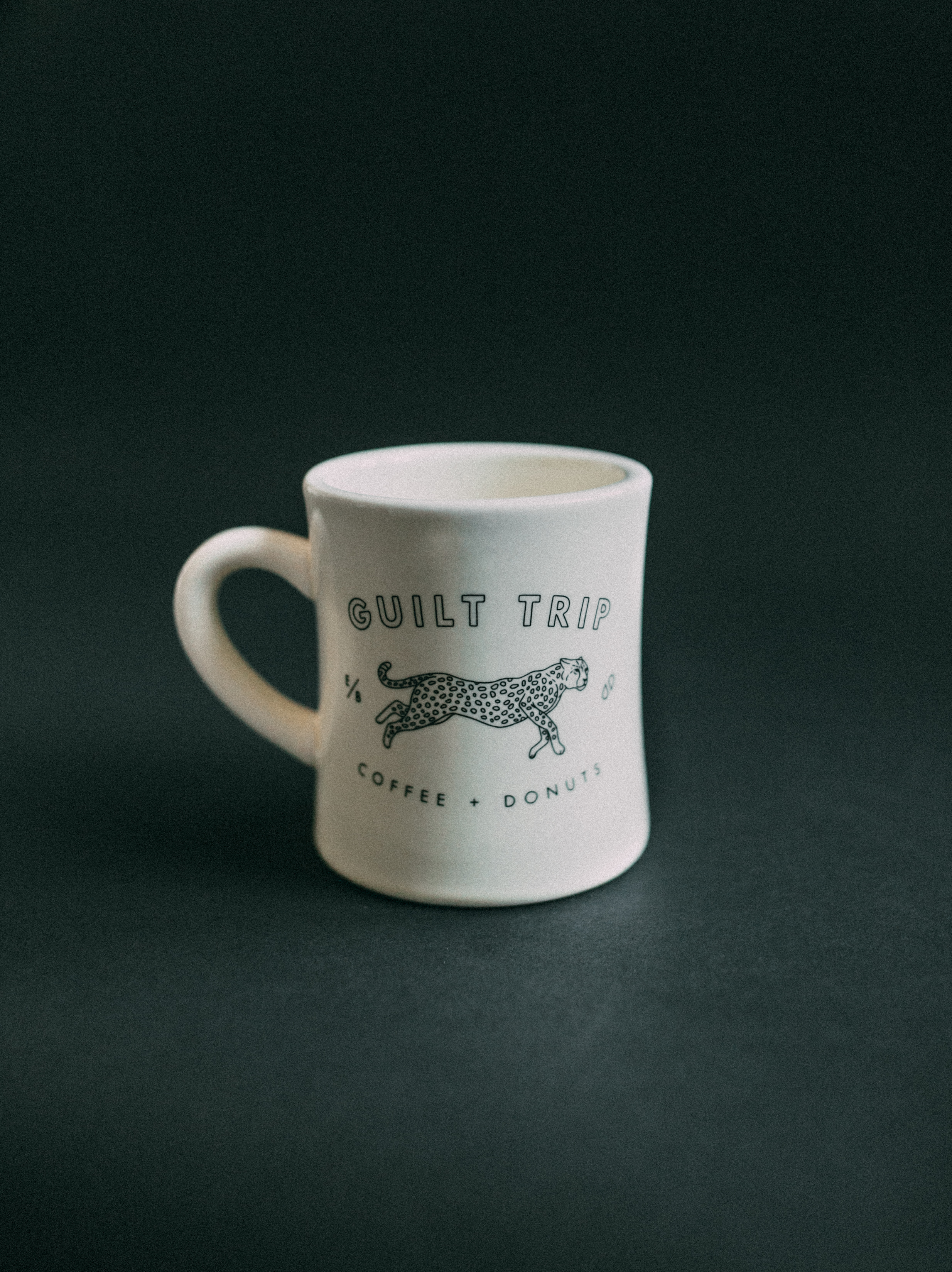 Diner Mug 02 Guilt Trip Coffee Donuts