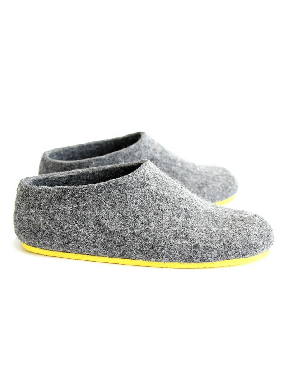 504a214822d3d Women's Felt House Shoes Grey Minimalist — Luxury wool felt shoes, felt  boots, boiled wool slippers, woolen clogs - custom made at feltforma.com