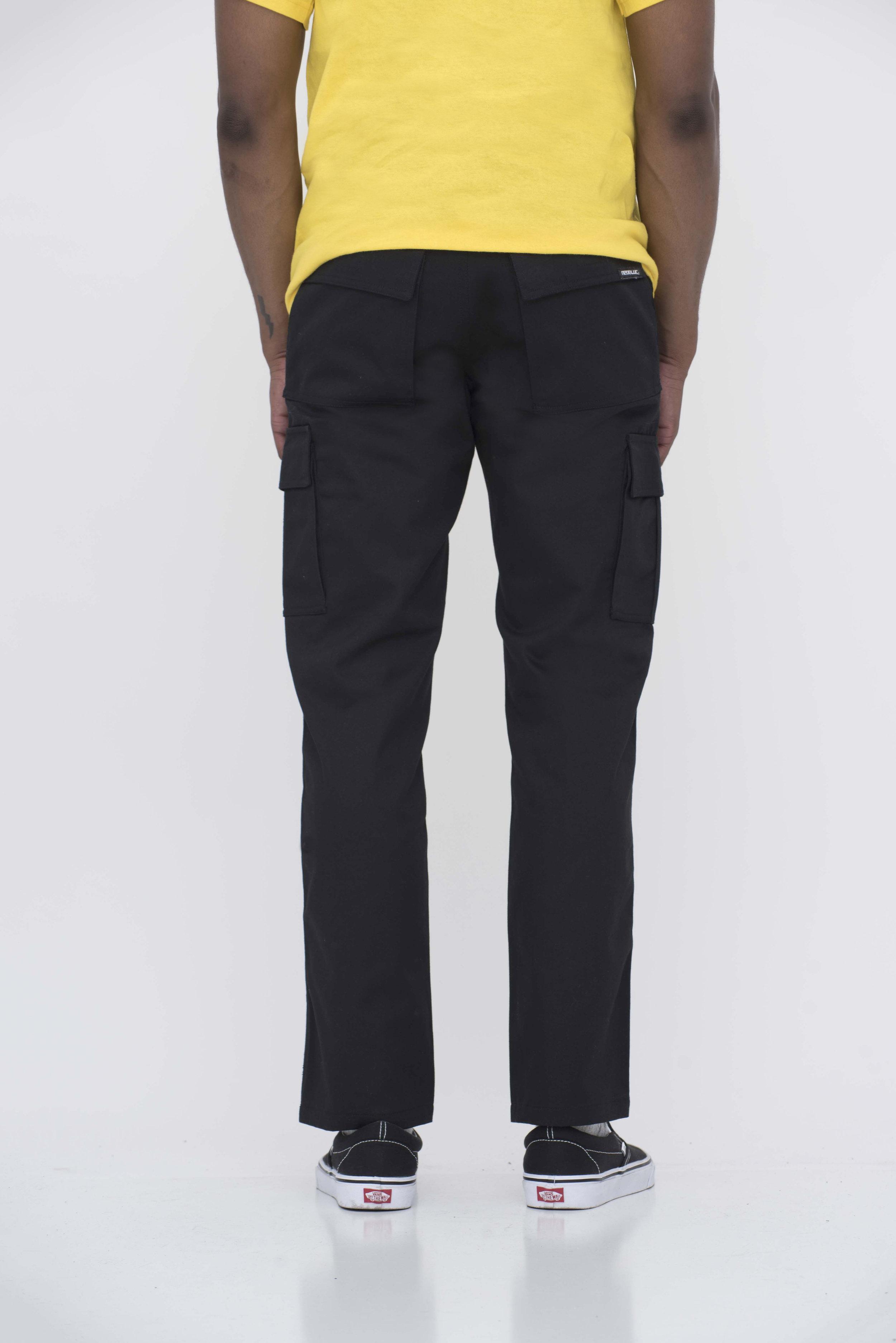 7c2f192ad Black Cargo Pants — Neo Blue Jeans
