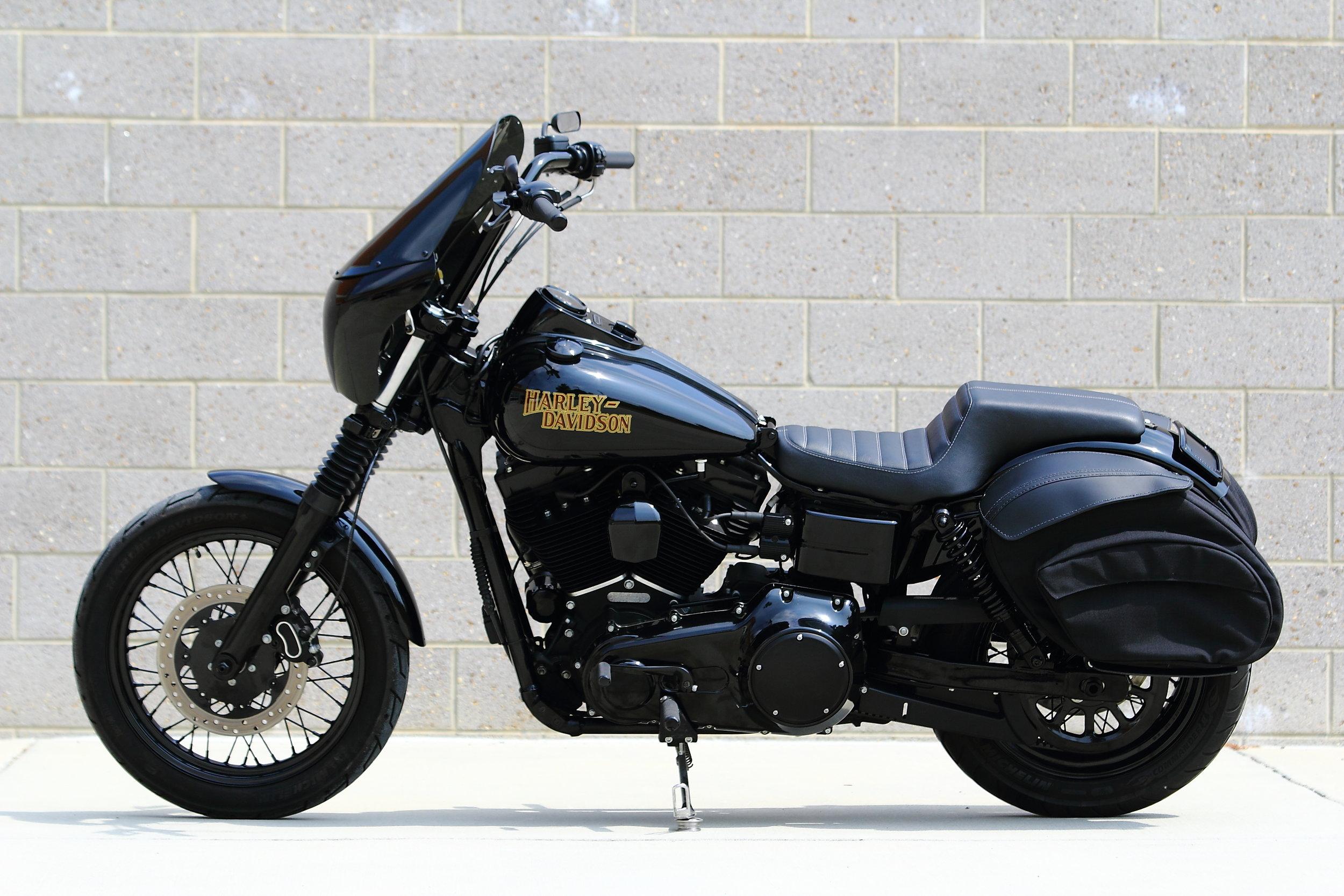 2016 Harley Davidson Dyna Street Bob - Club Style Build — SOUTHEAST CUSTOM  CYCLES