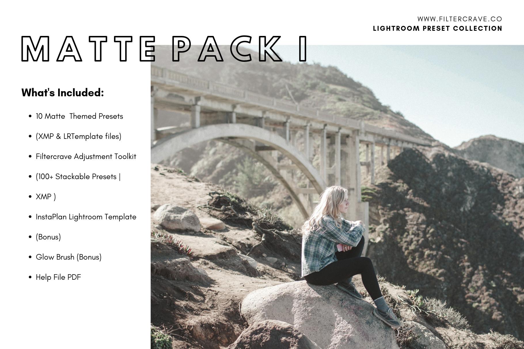 Matte Pack Mobile Lightroom Presets — Filtercrave