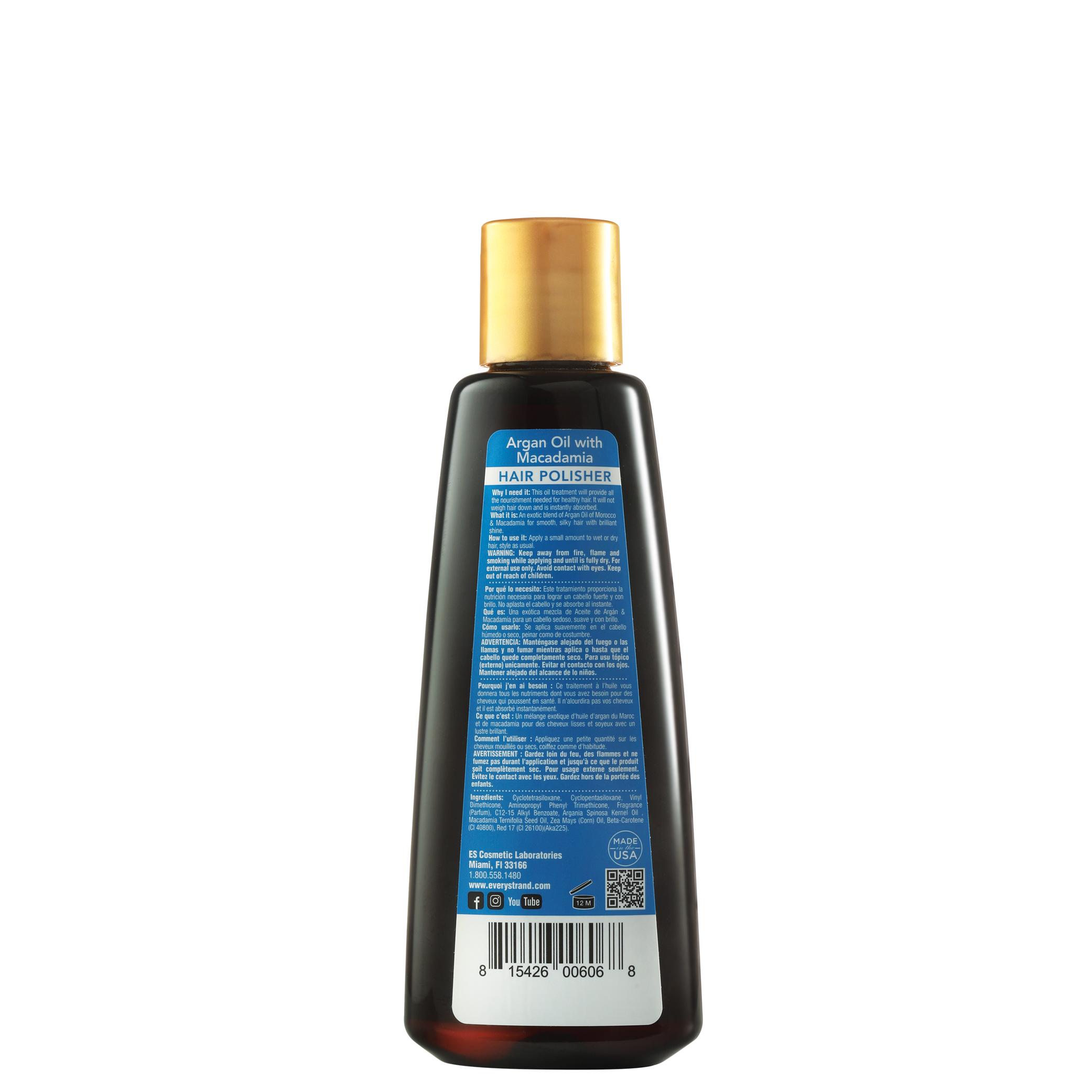 Argan Oil with Macadamia Hair Polisher — Every Strand New