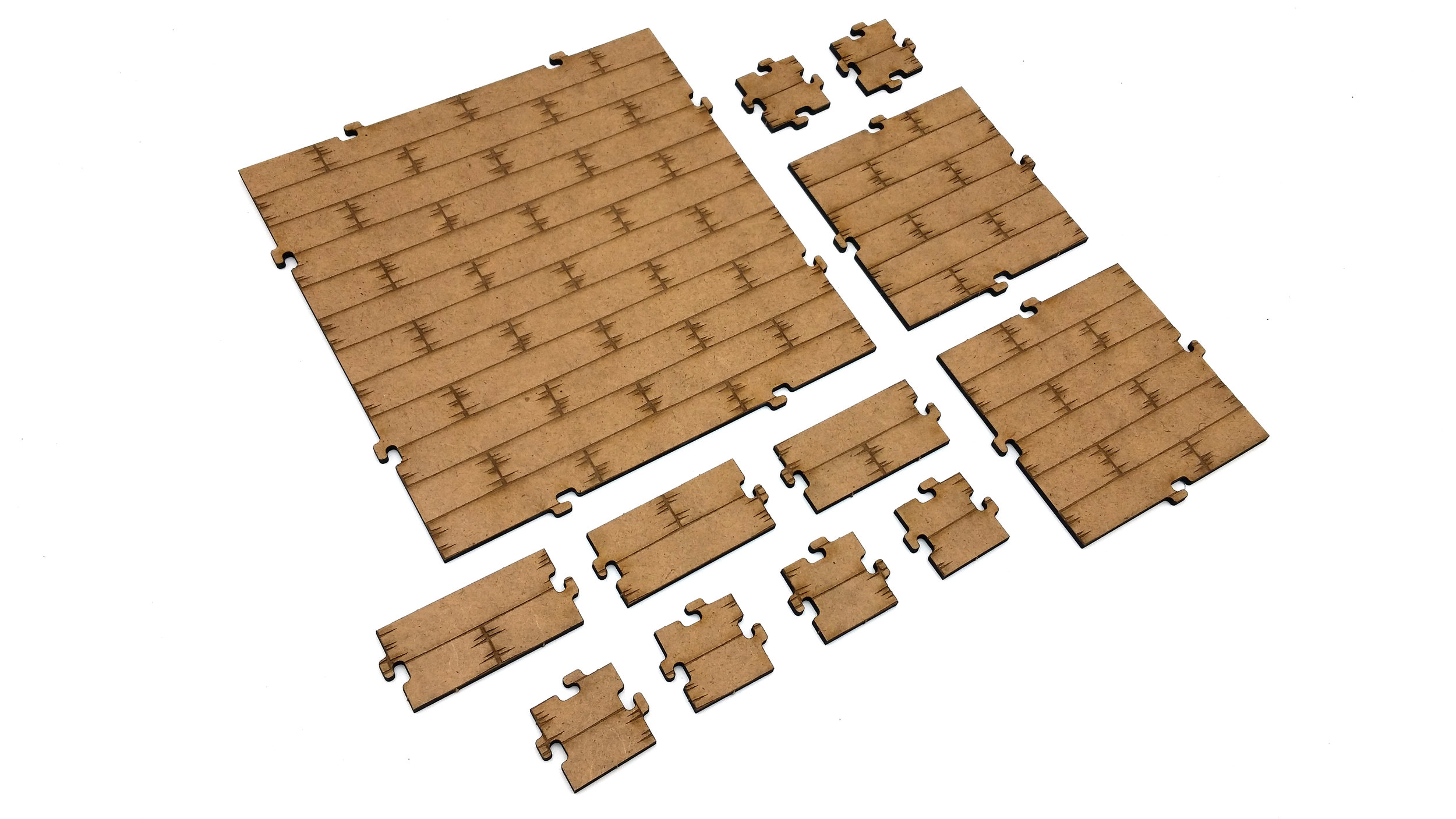 Dungeon Tiles - Wooden Interior — Galaxy Gaming Gear