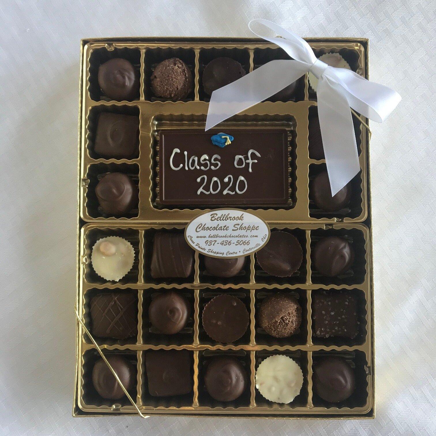 Bellbrook Halloween 2020 Graduation 2020 Boxed Chocolates — Bellbrook Chocolate Shoppe