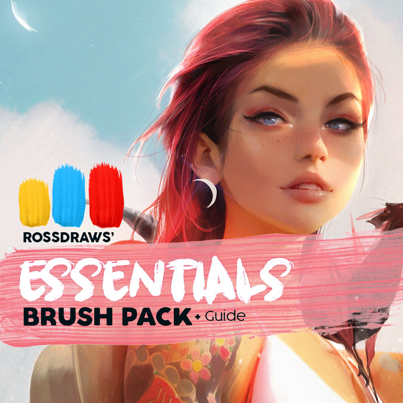 Rossdraws' Essentials Brush Pack — RossDraws