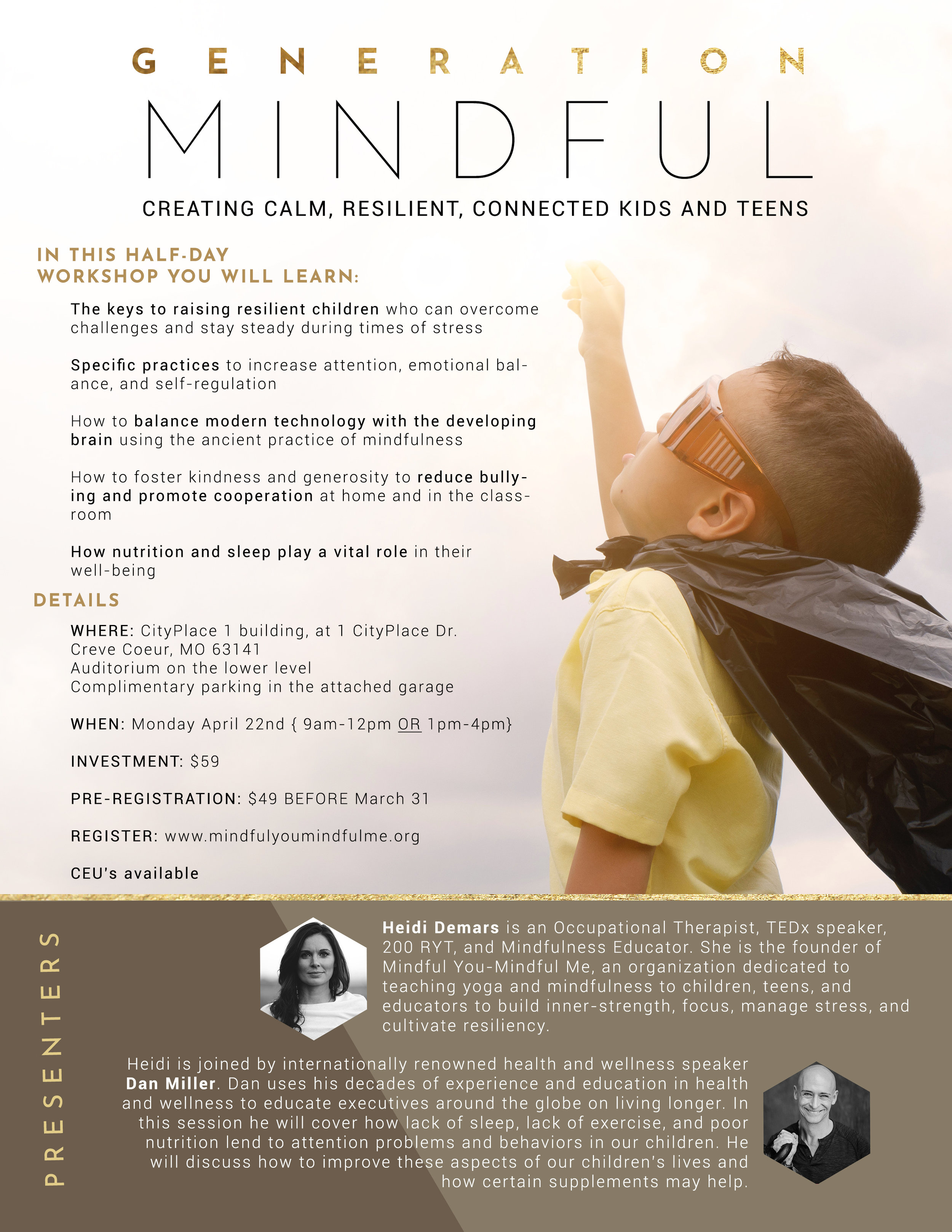 Generation Mindful: Creating Calm, Resilient, Connected Kids and Teens —  Mindful You — Mindful Me