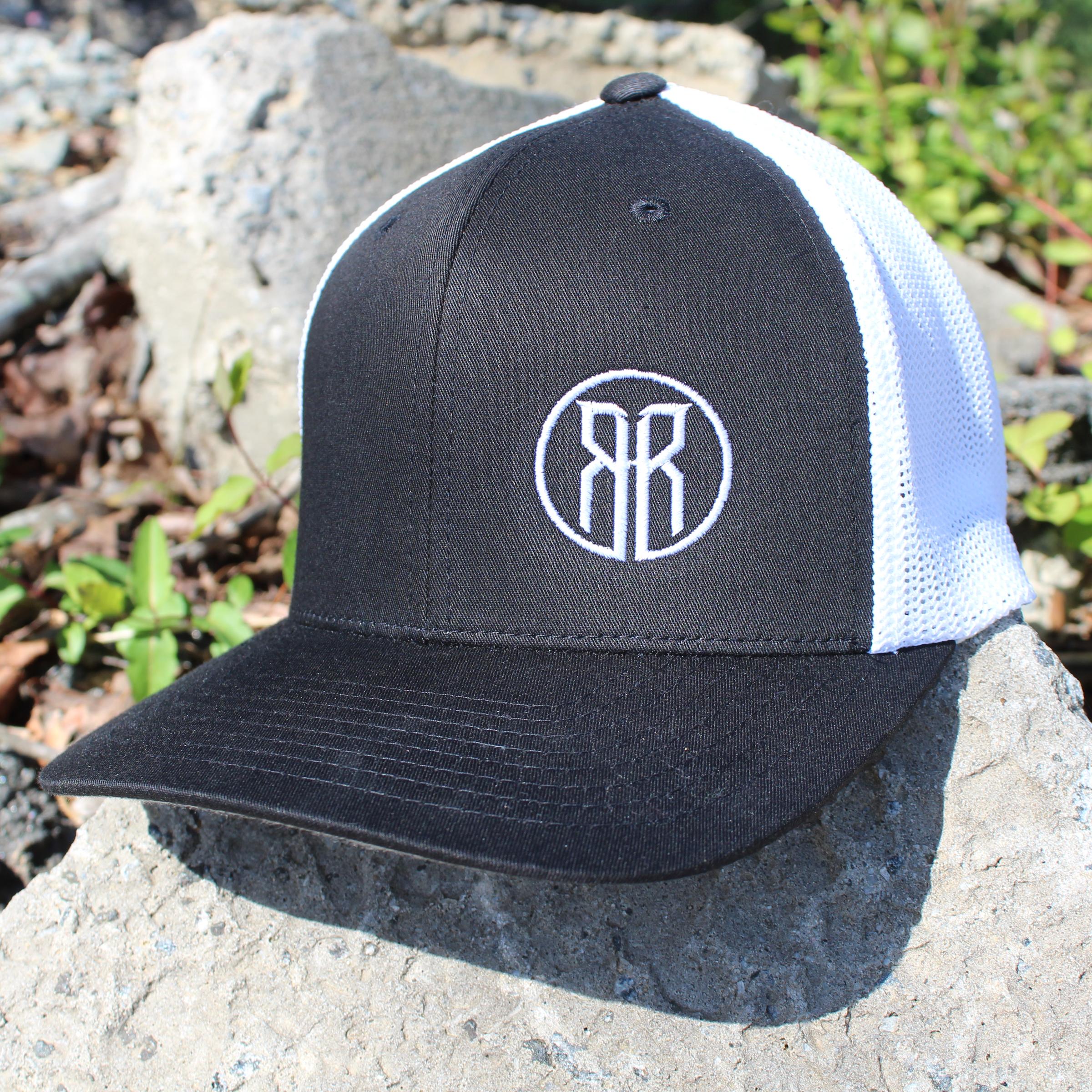 Circle RR Logo FlexFit Trucker Hat — Road Rage