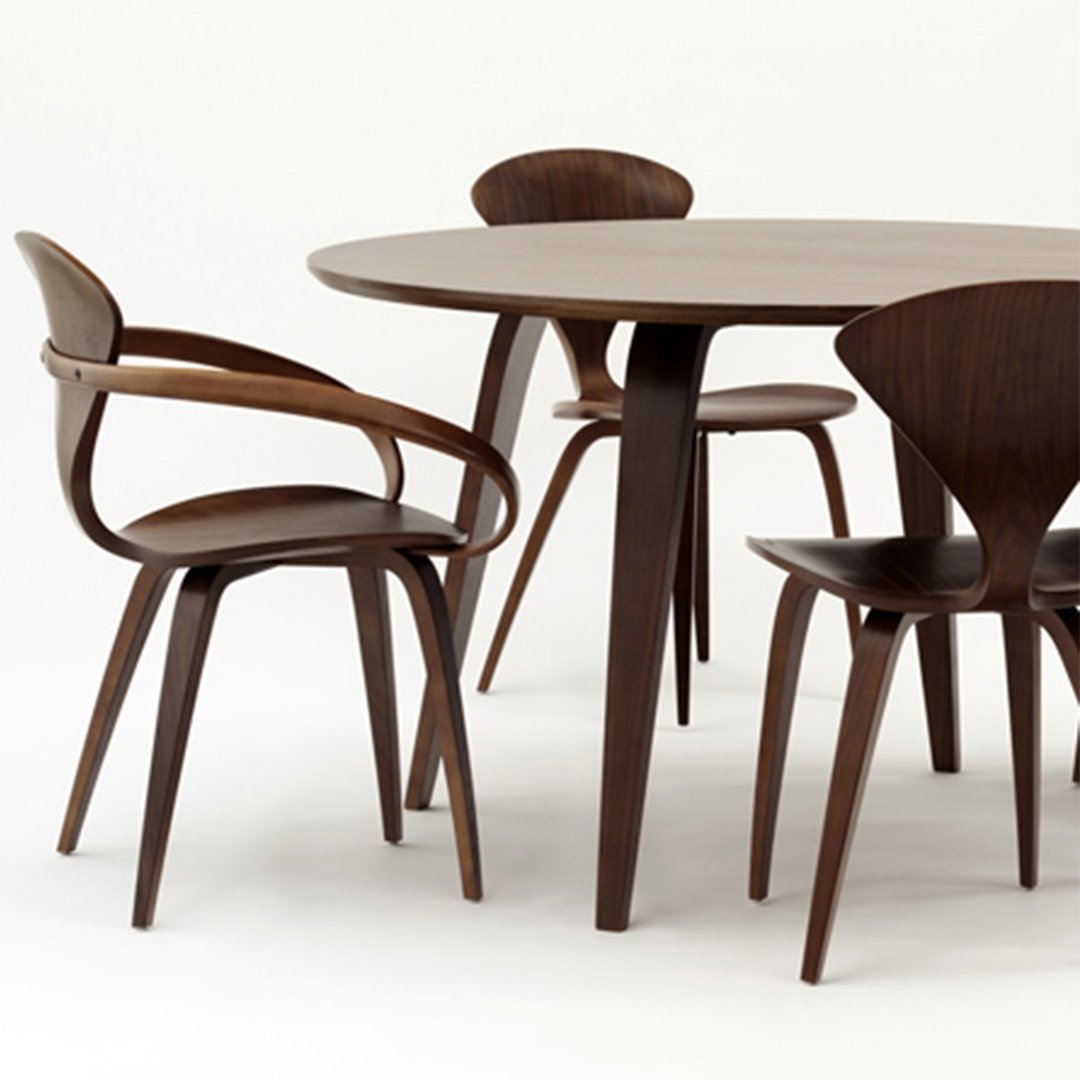 Round Dining Table By Cherner Weisshouse