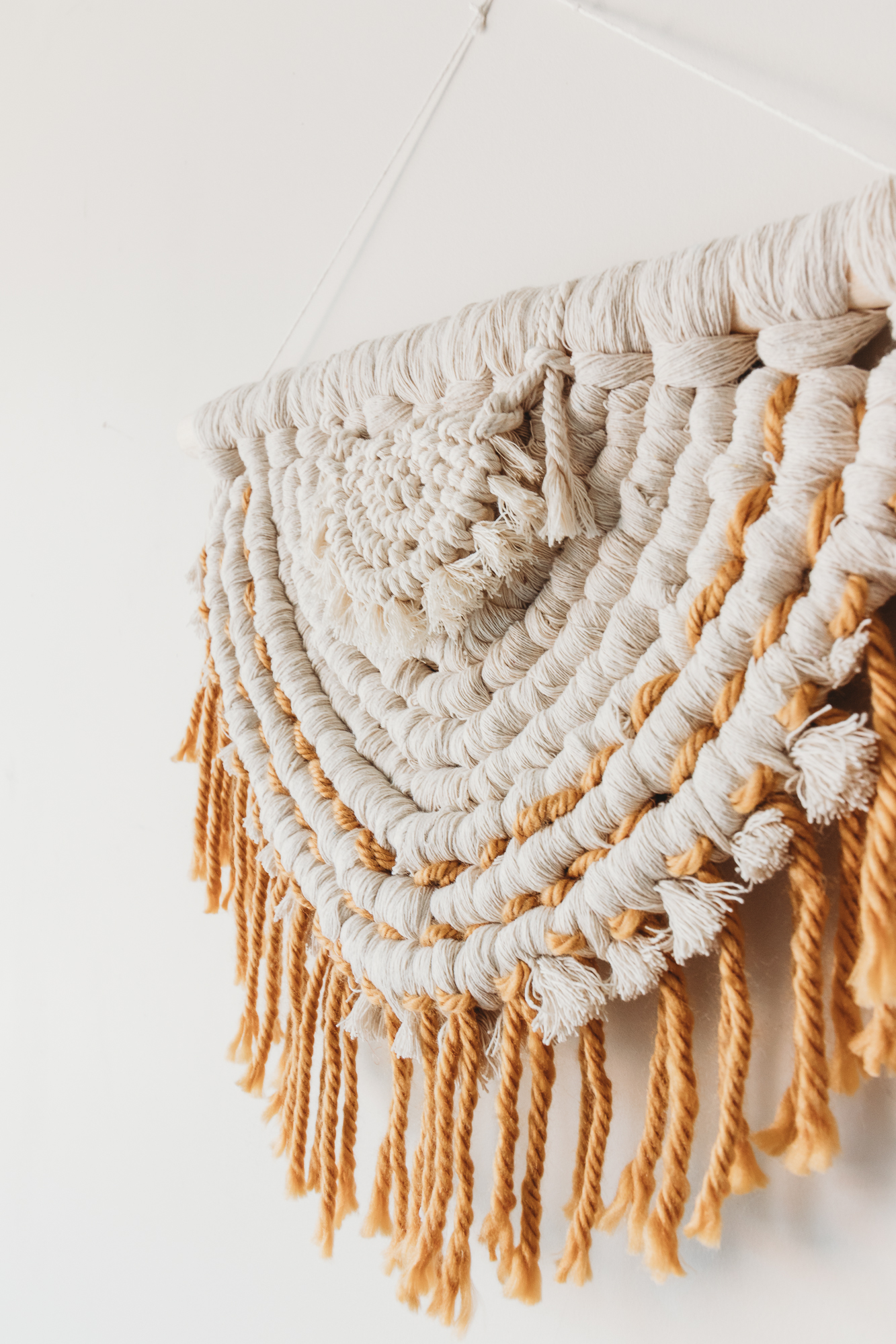 Half Circle Macrame Project Class Video Instructions And Pattern