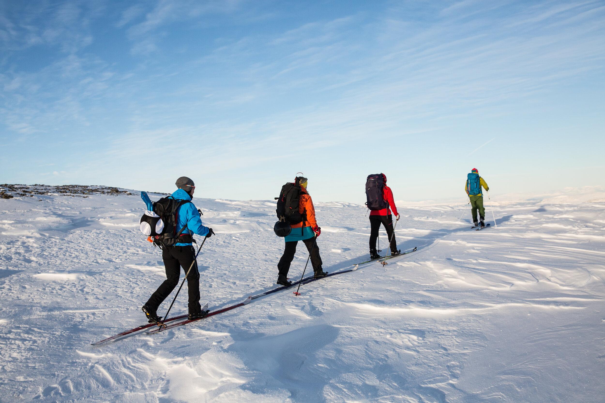 På tur på fjellski i Jotunheimen — Gjendeguiden. Your guide in Jotunheimen Nationalpark