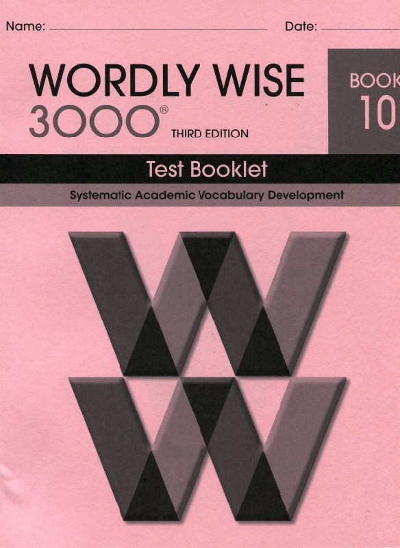 30 OFF Wordly Wise 3000 3rd Edition Vocabulary Grade 2 12 Teacher S Choice