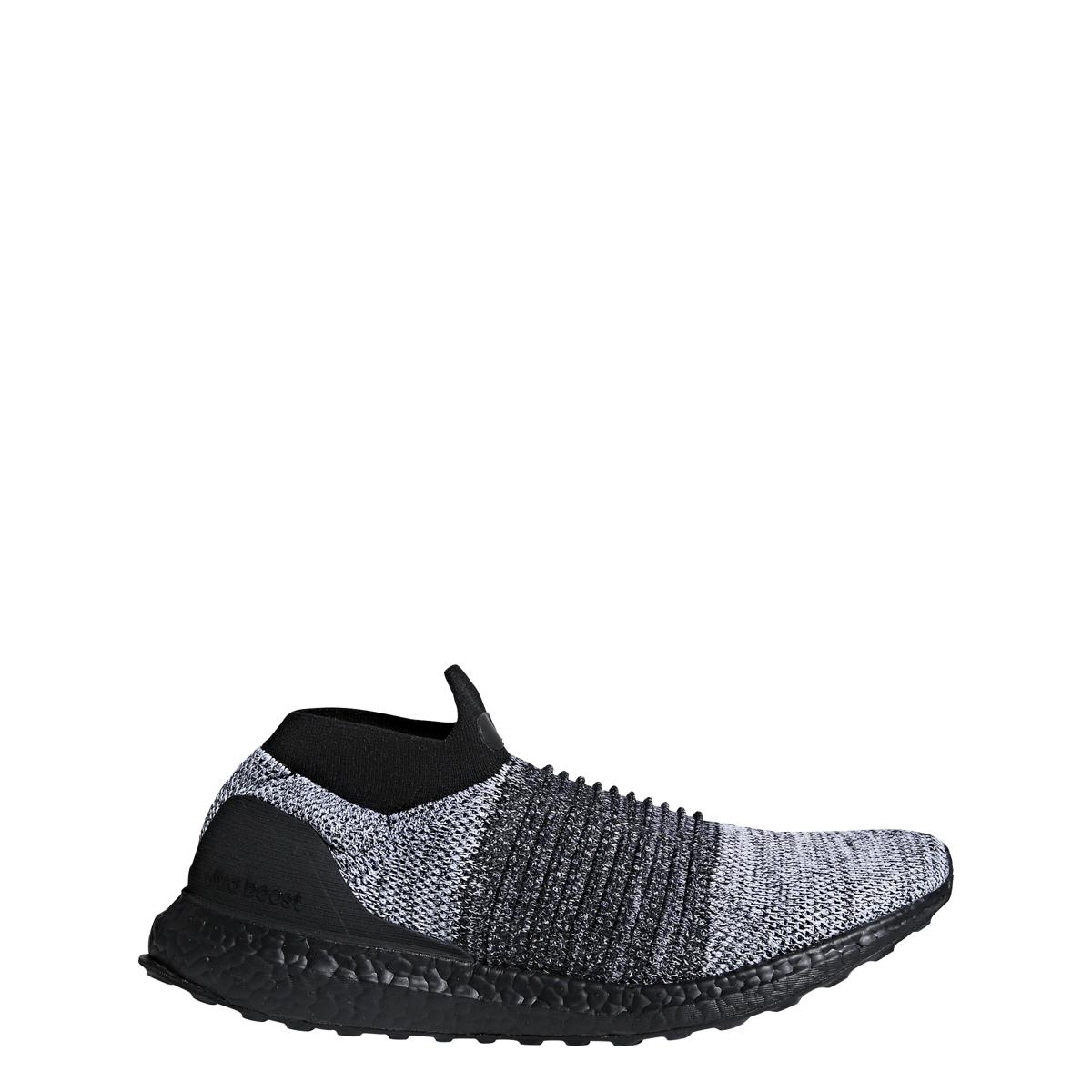 Adidas UltraBoost Laceless in Triple White — MAJOR