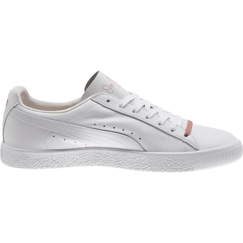 size 40 481ba 6730c Puma Clyde x Emory Jones in White — MAJOR