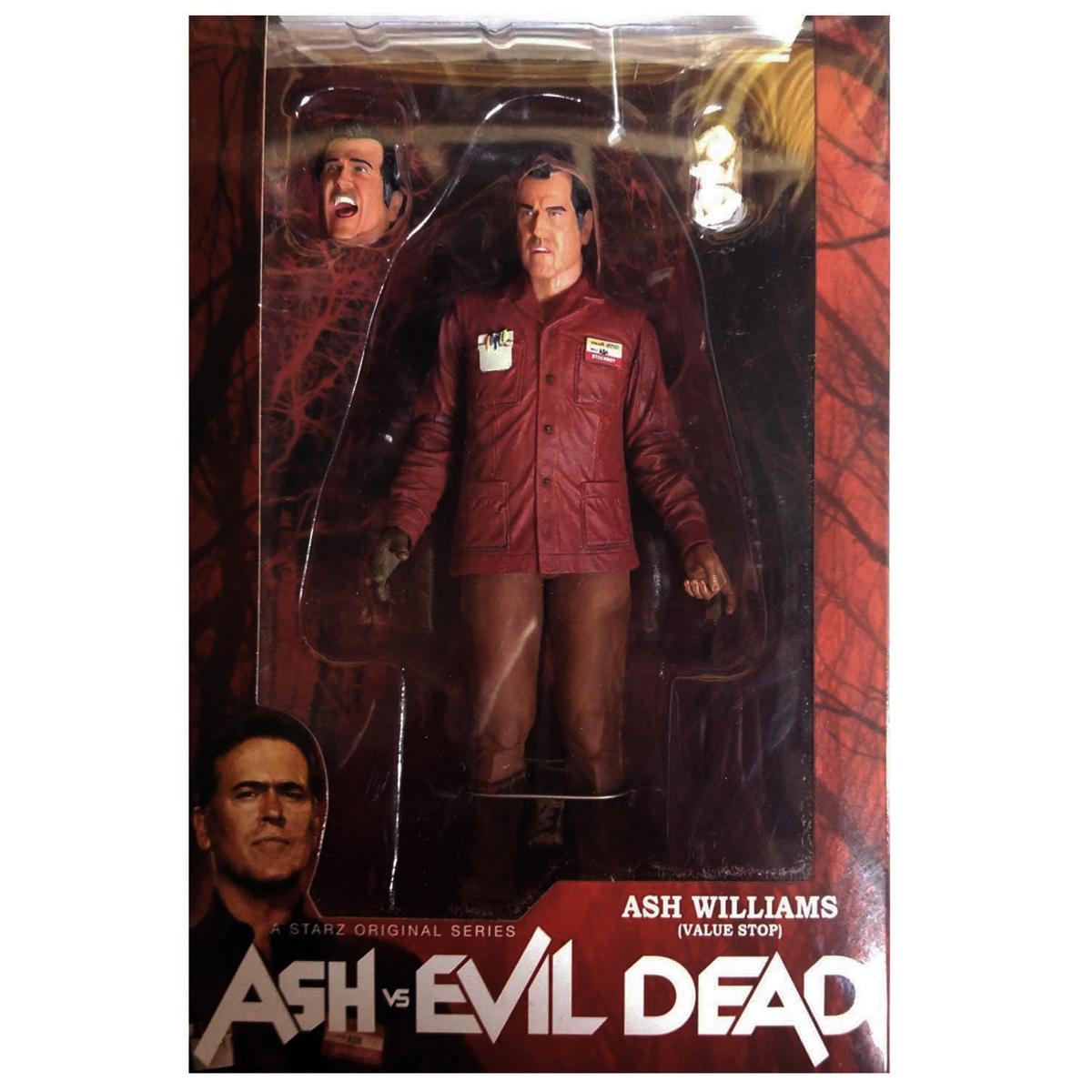 "EVIL DEAD Ash Value Stop 7/"" Scale Action Figure NEW NECA ASH VS"