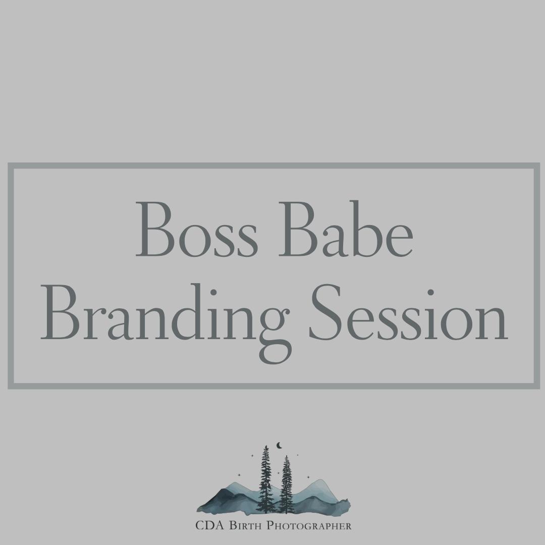 Boss Babe Branding Sessions Cda Birth Photographer