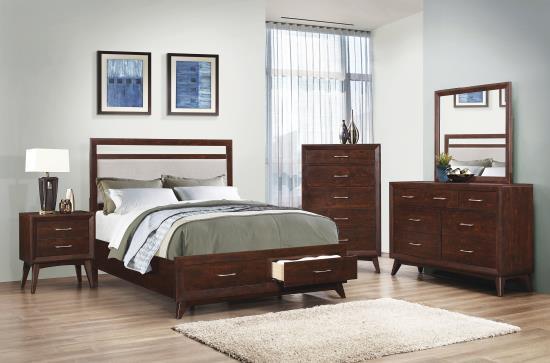 Mid-Century Modern Bedroom Set — DecoDesign Furniture   Furniture Store    Miami Fl   Wholesale Prices