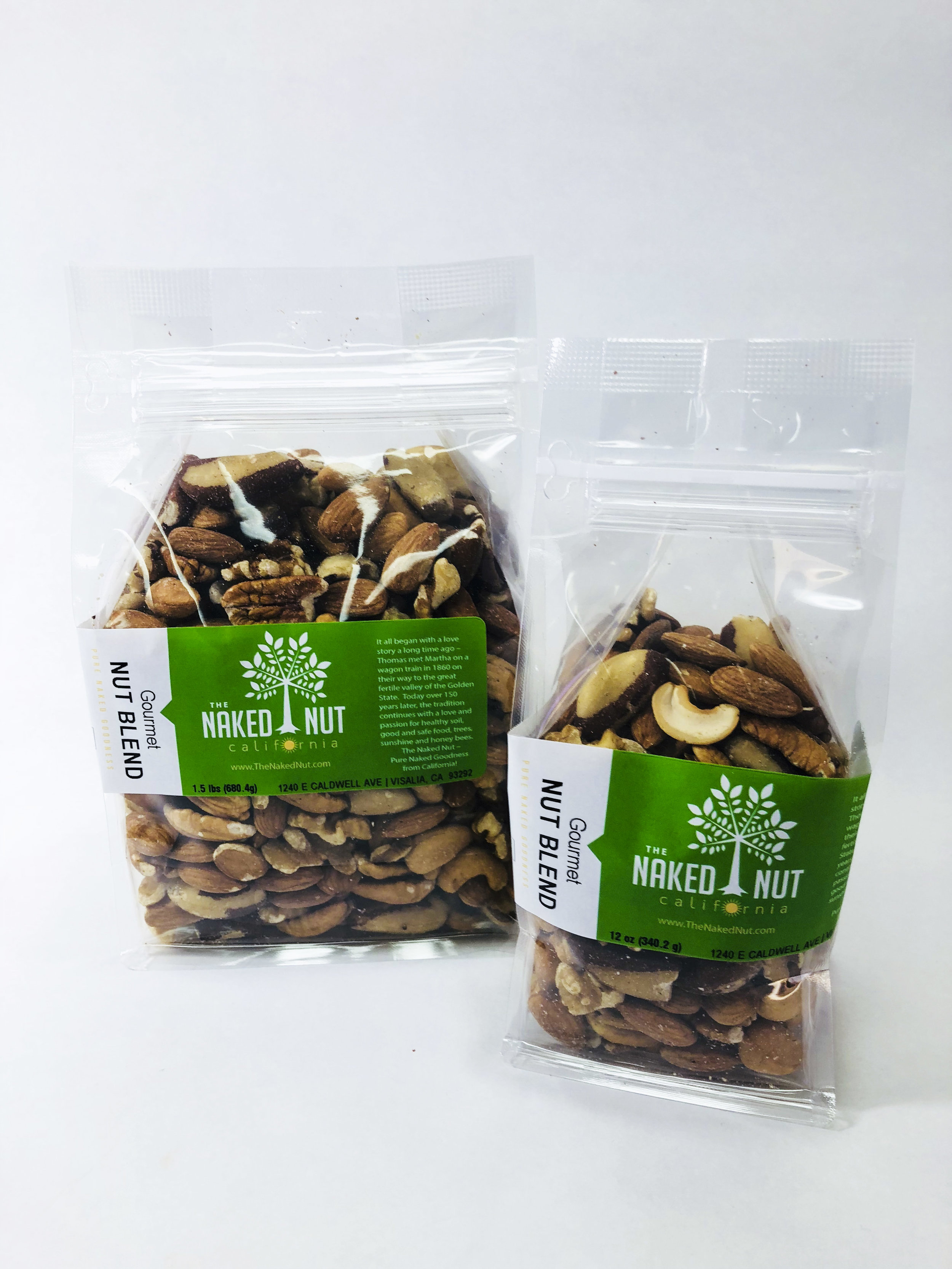 Gourmet Nut Blend — The Naked Nut Growers