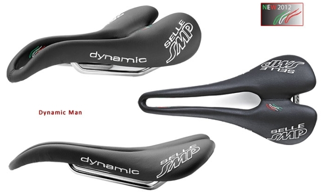 Selle SMP Dynamic Black Bicycle SaddleMade in Italy