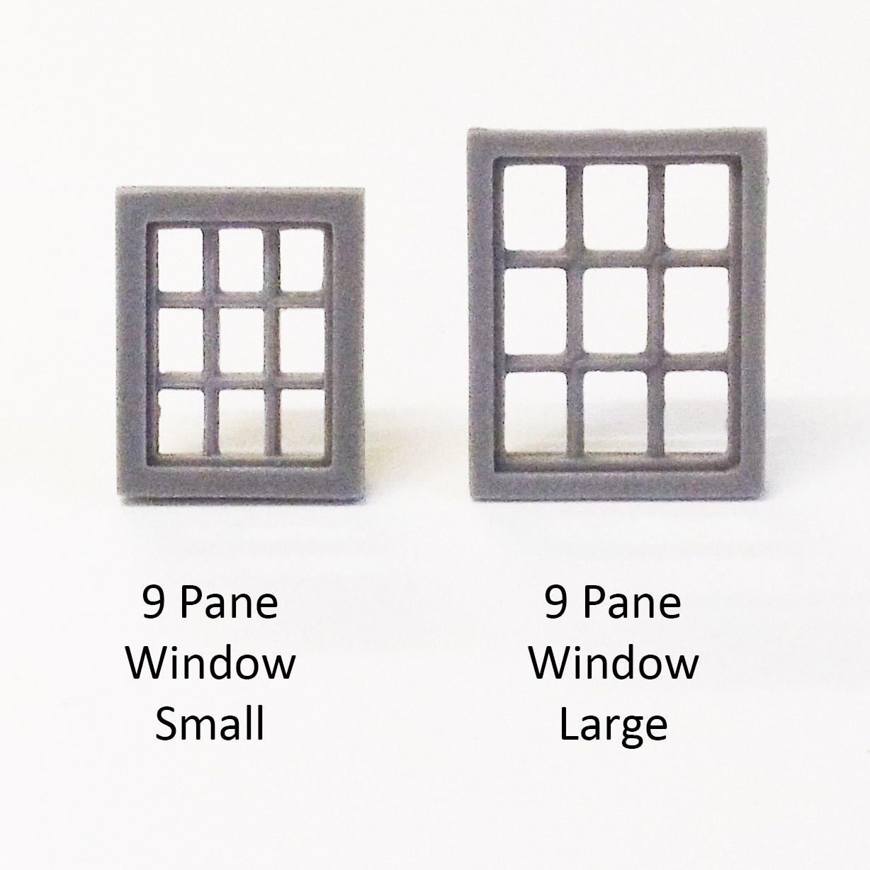 Nine Pane Window Large Pack Of 4 Firedragon Games