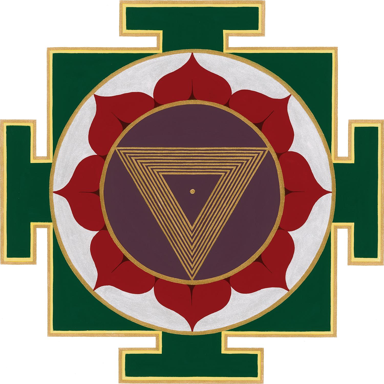 Tripur Bhairavi — Strength Yantra Print — Sarah Tomlinson