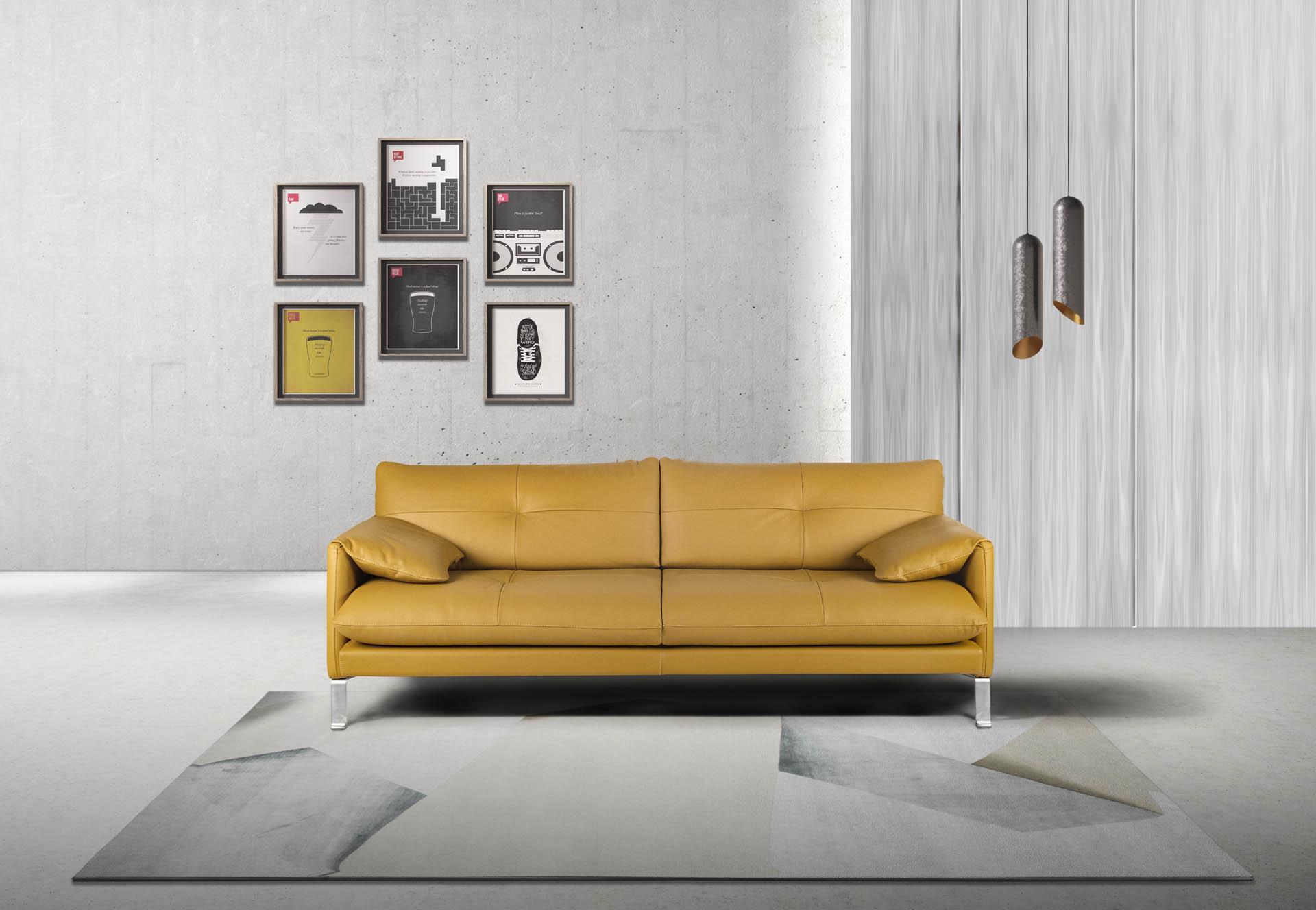 Leather Sofas Designer Estro Living Fabric Diven And Contemporary — E2IWH9YD