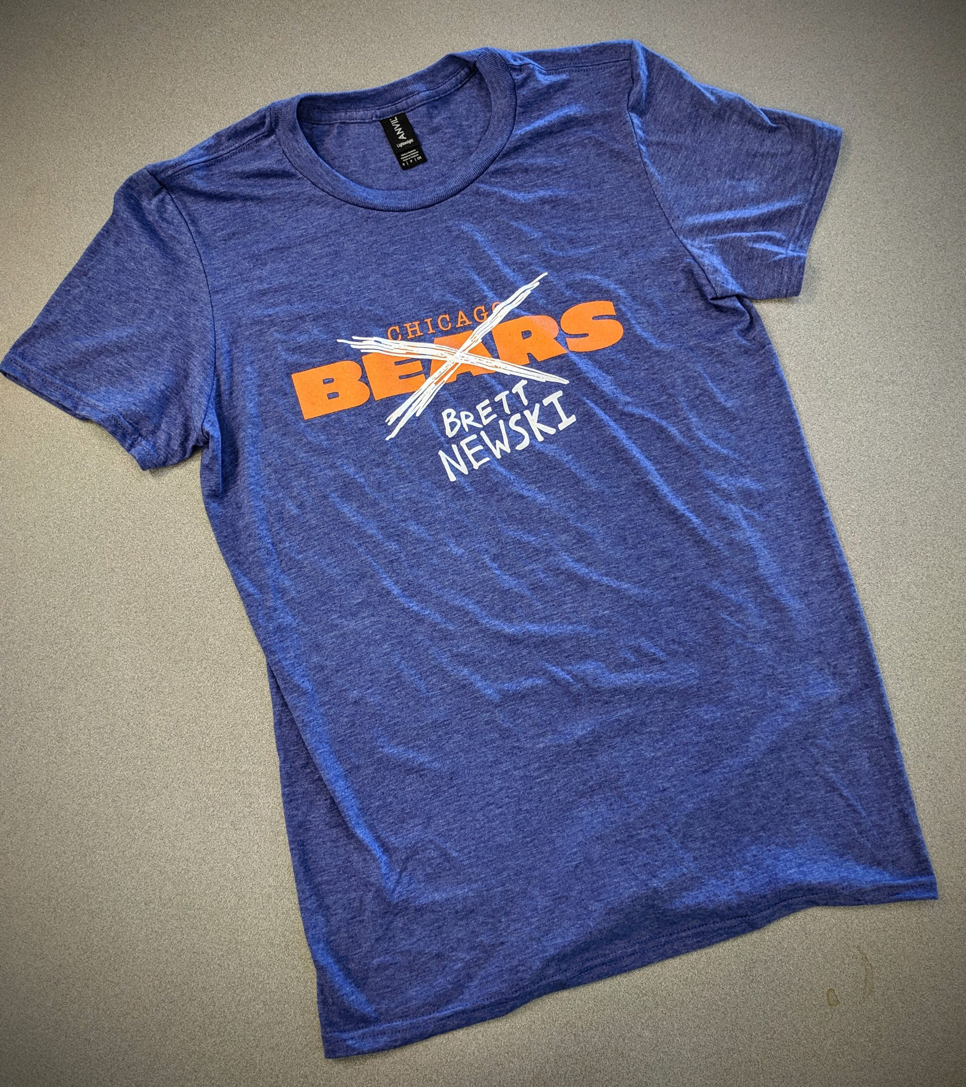 a6a5e4e2 Chicago Bears Brett Newski shirt — 90's kid.