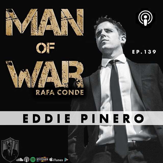 🇺🇸 New Episode Dropped! . Get ready for a powerful conversation with @iameddiepinero founder of @your_world_within . Real talk about real life. . Go listen to it link on bio👆 . . Follow @manofwarpodcast . . 👉 @manofwarr
