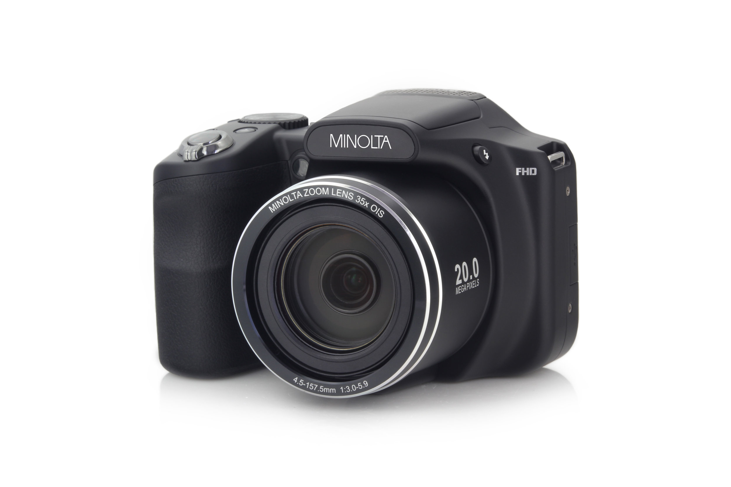 MN35Z 20MP 35X Optical Zoom Wi-Fi Bridge Camera - Black — Minolta Digital