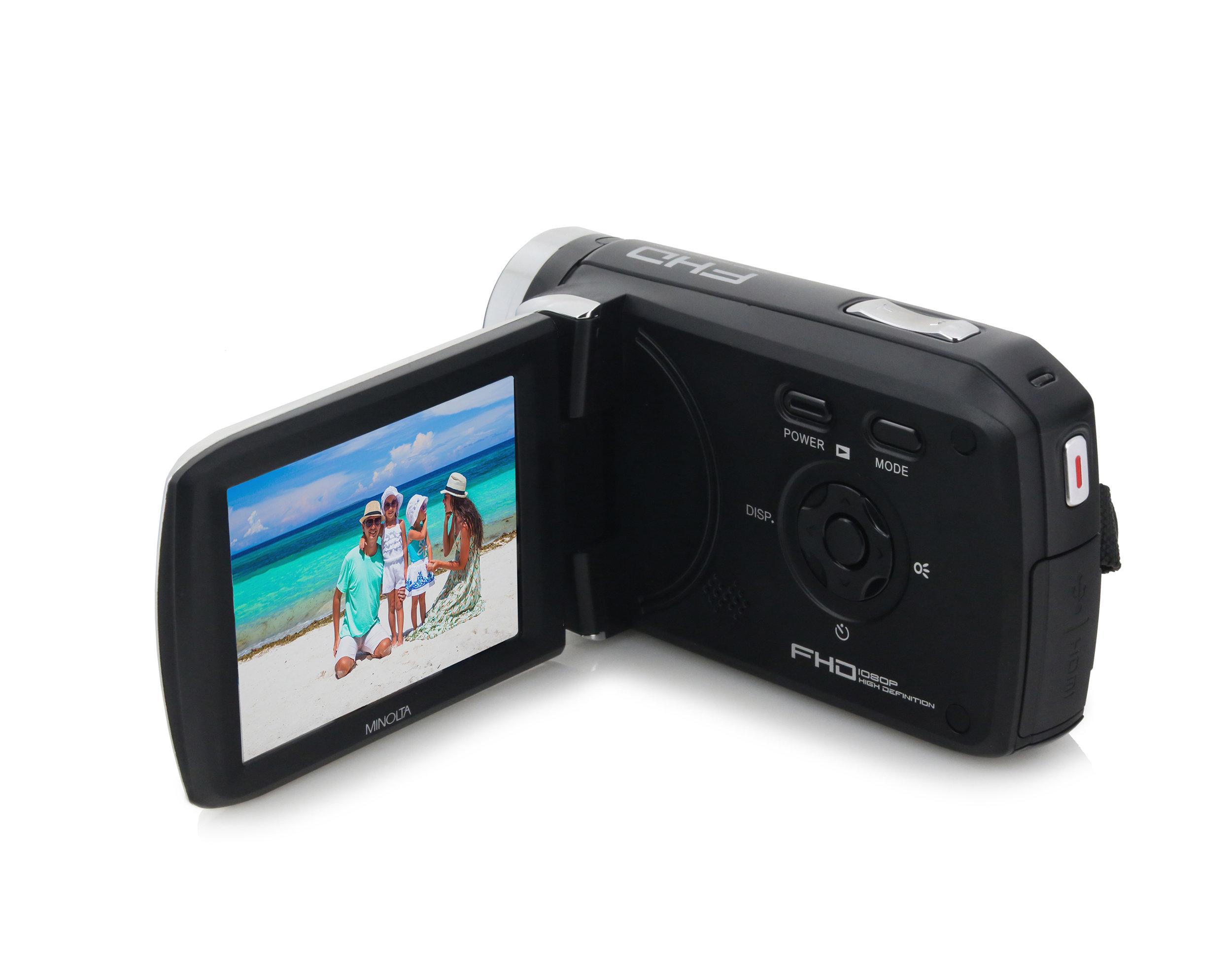 MN50HD - FULL HD 1080p CAMCORDER - Black — Minolta Digital