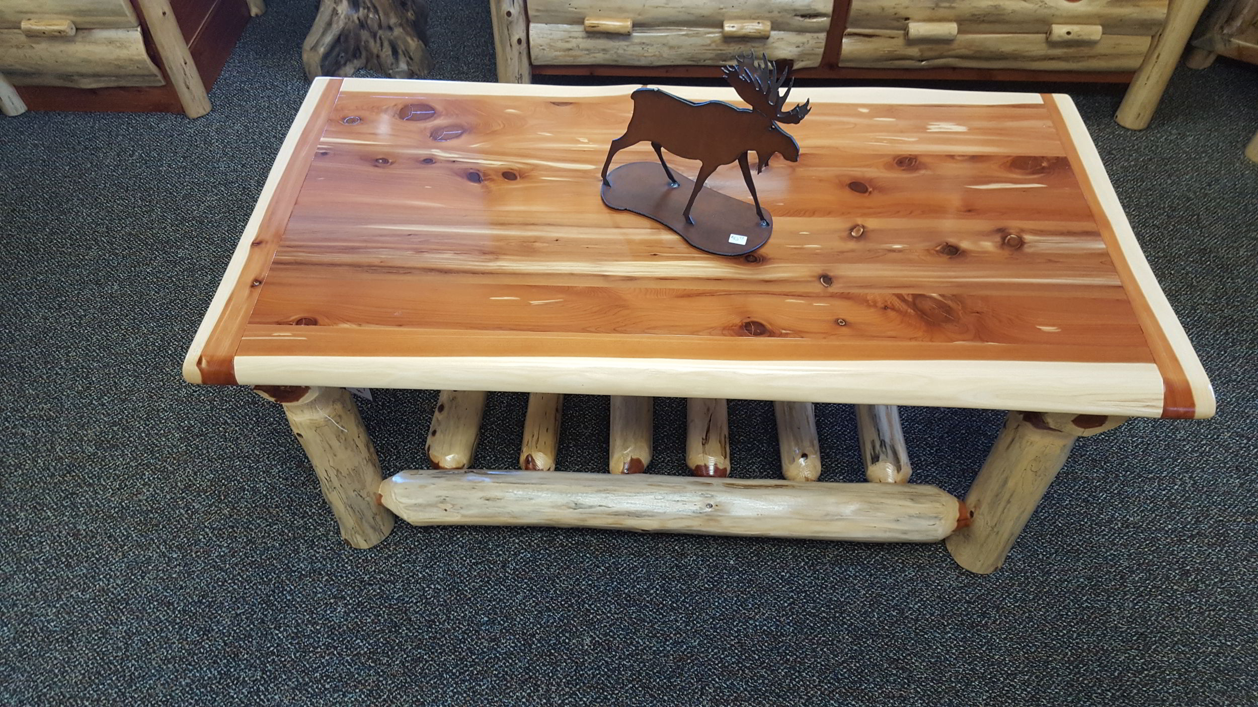 Red Cedar Coffee Table Ez Mountain Rustic Furniture