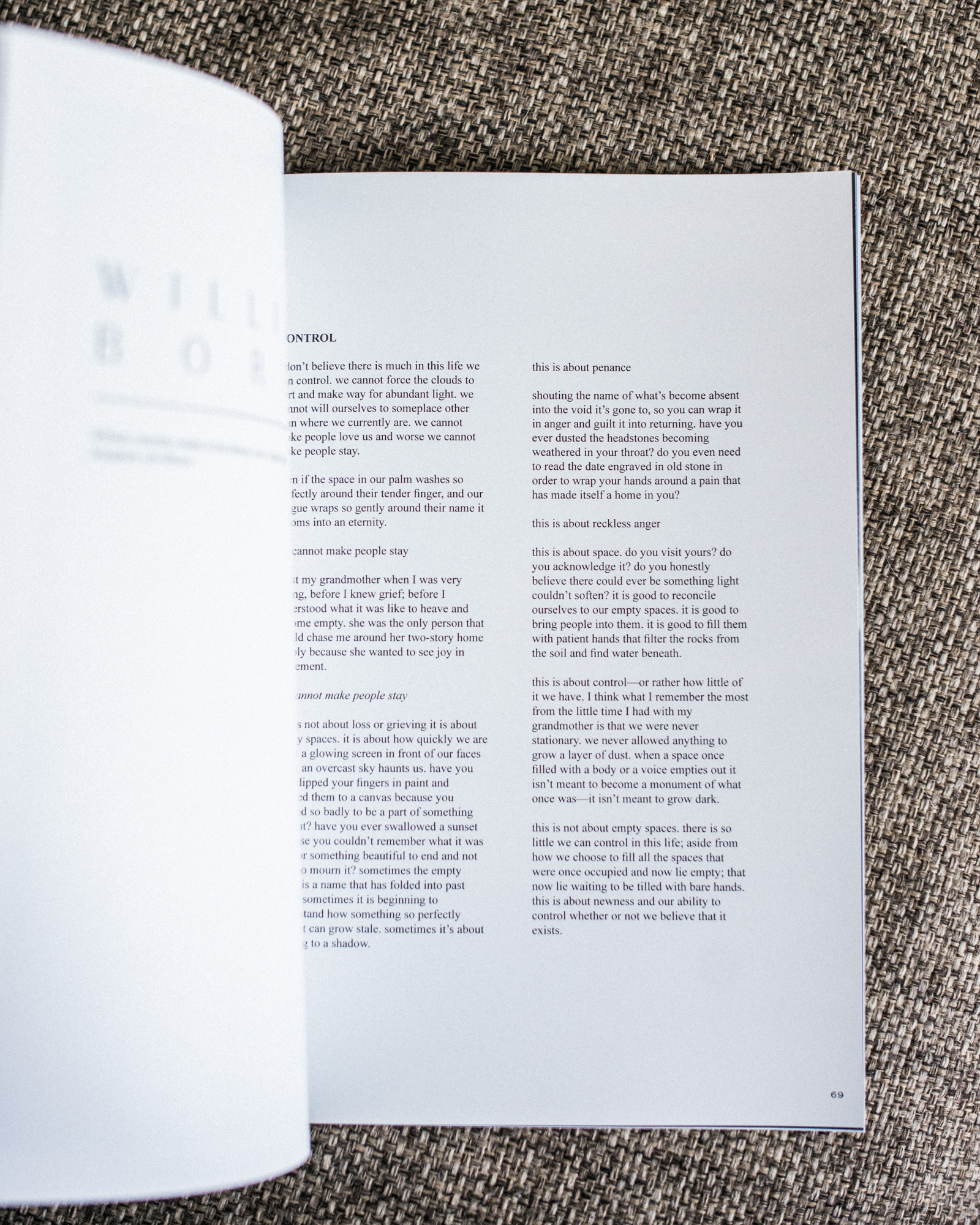Unvael Journal Issue Five