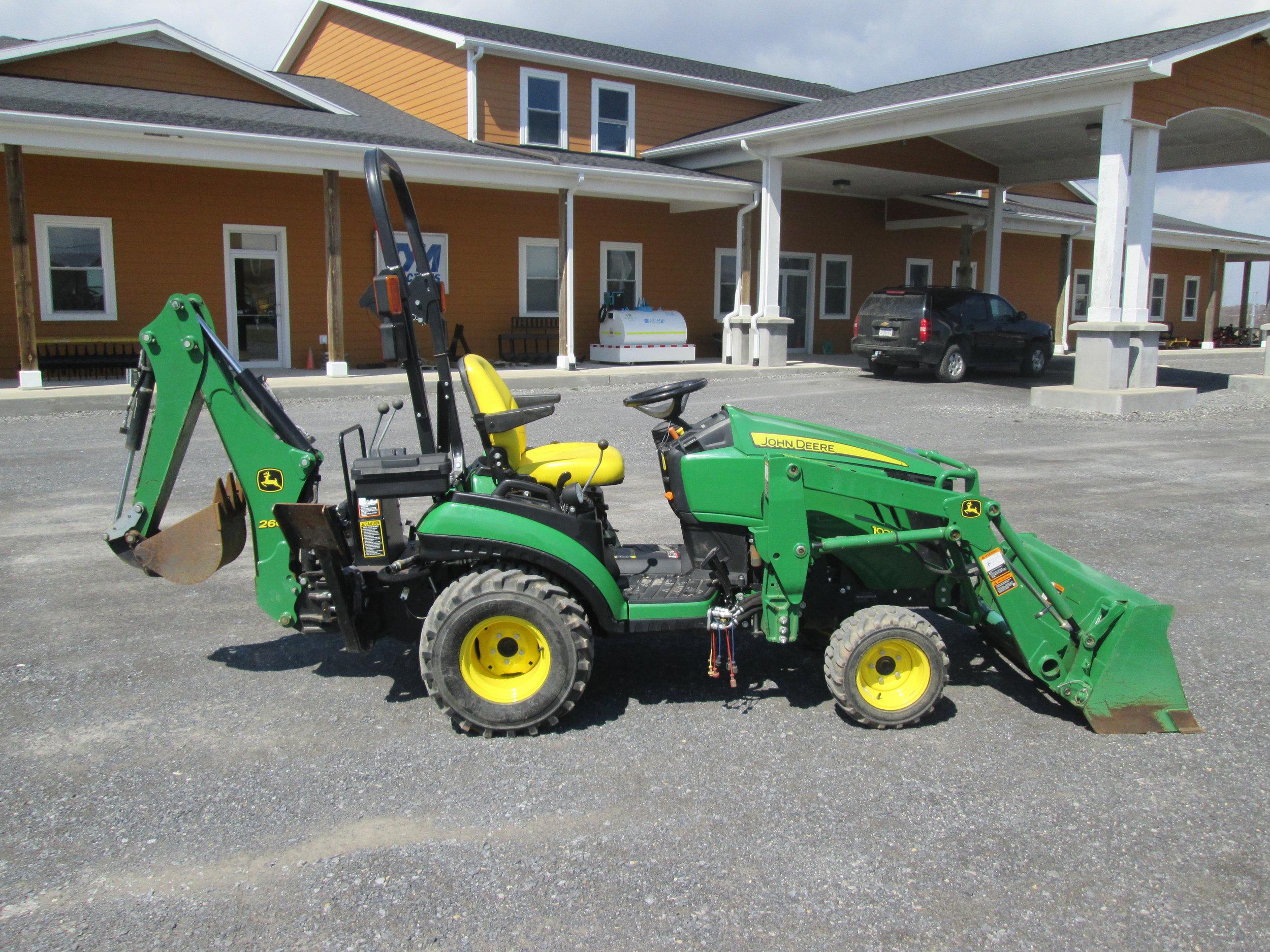 #8592 - John Deere 1025R — Carroll Equipment - Syracuse's Best Place For  Construction Equipment