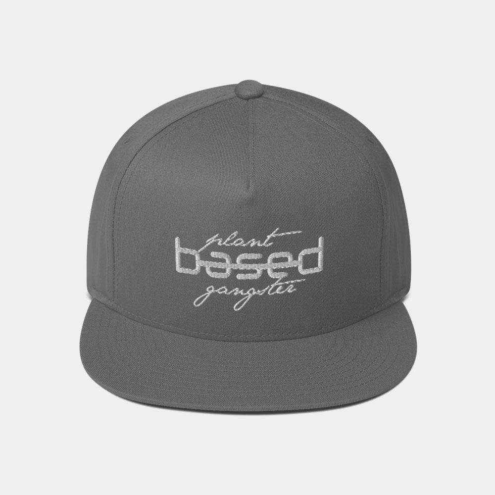 ad527a43 Plant-Based Gangster Vegan Snapback Hat | Plant-Based Apparel | Shop ...
