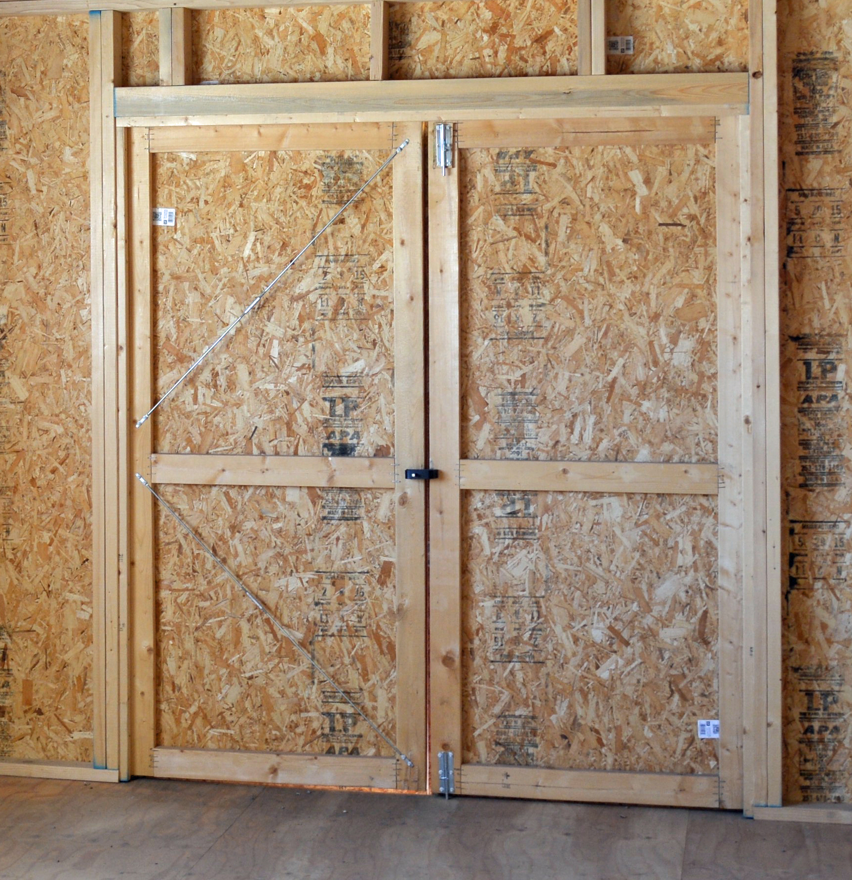 Shed & Barn Door Kit — Shed Supply