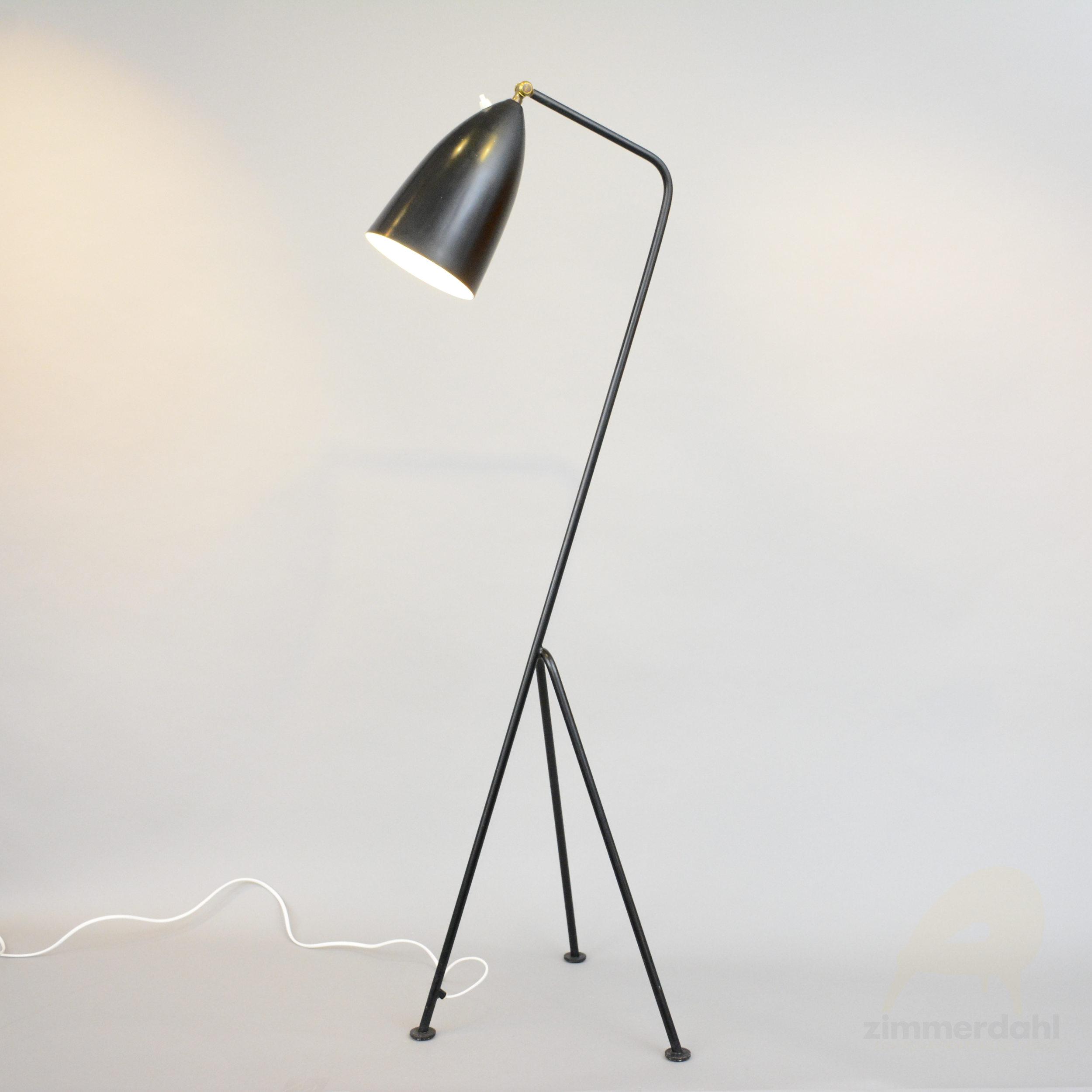 Floor Lamp Grasshopper By Greta Magnusson Grossman For Bergboms Sweden Scandinavian Timeless Design Zimmerdahl Antiques Design Ab