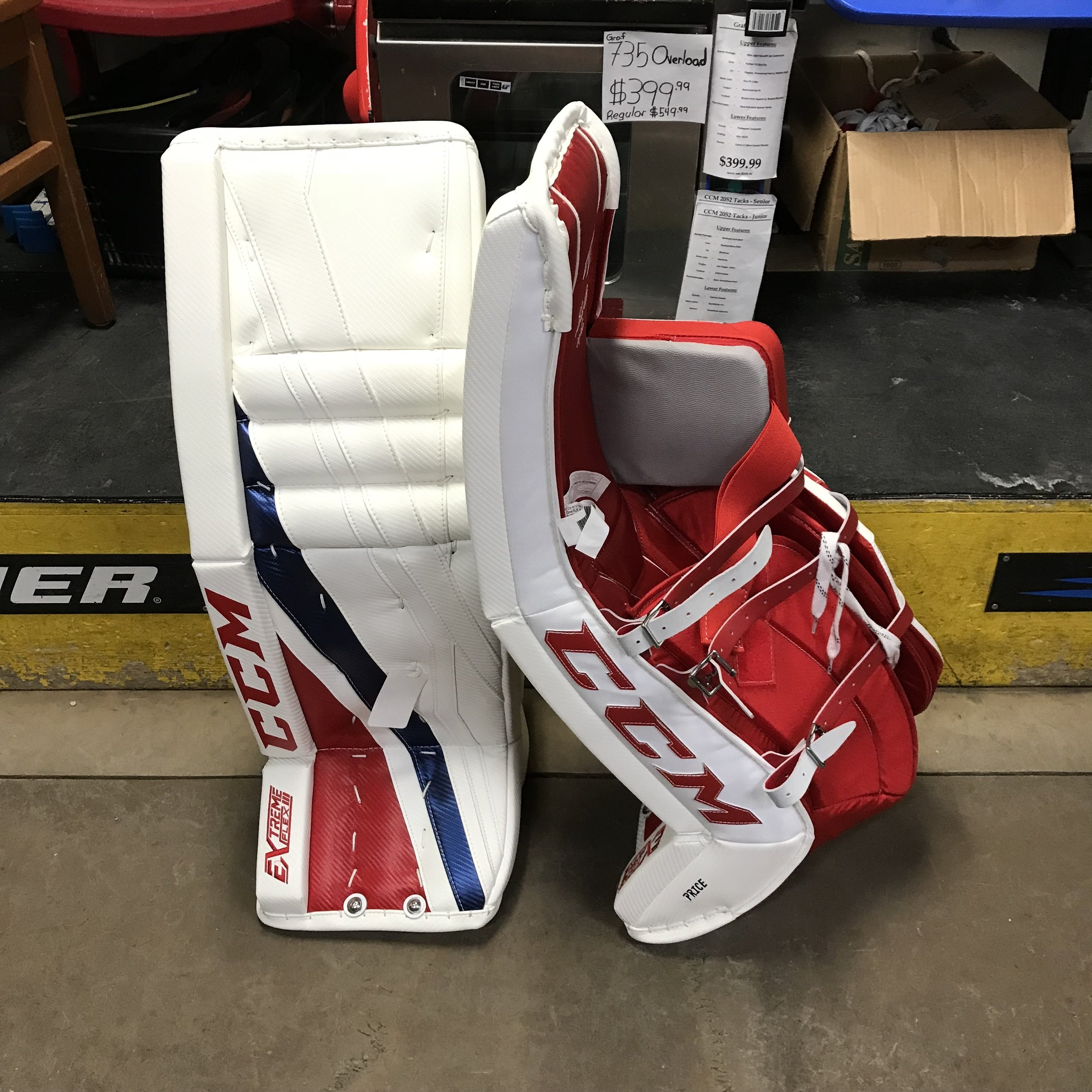 CCM Carey Price Eflex 3 Pro Senior Leg Pads — Crows Sports