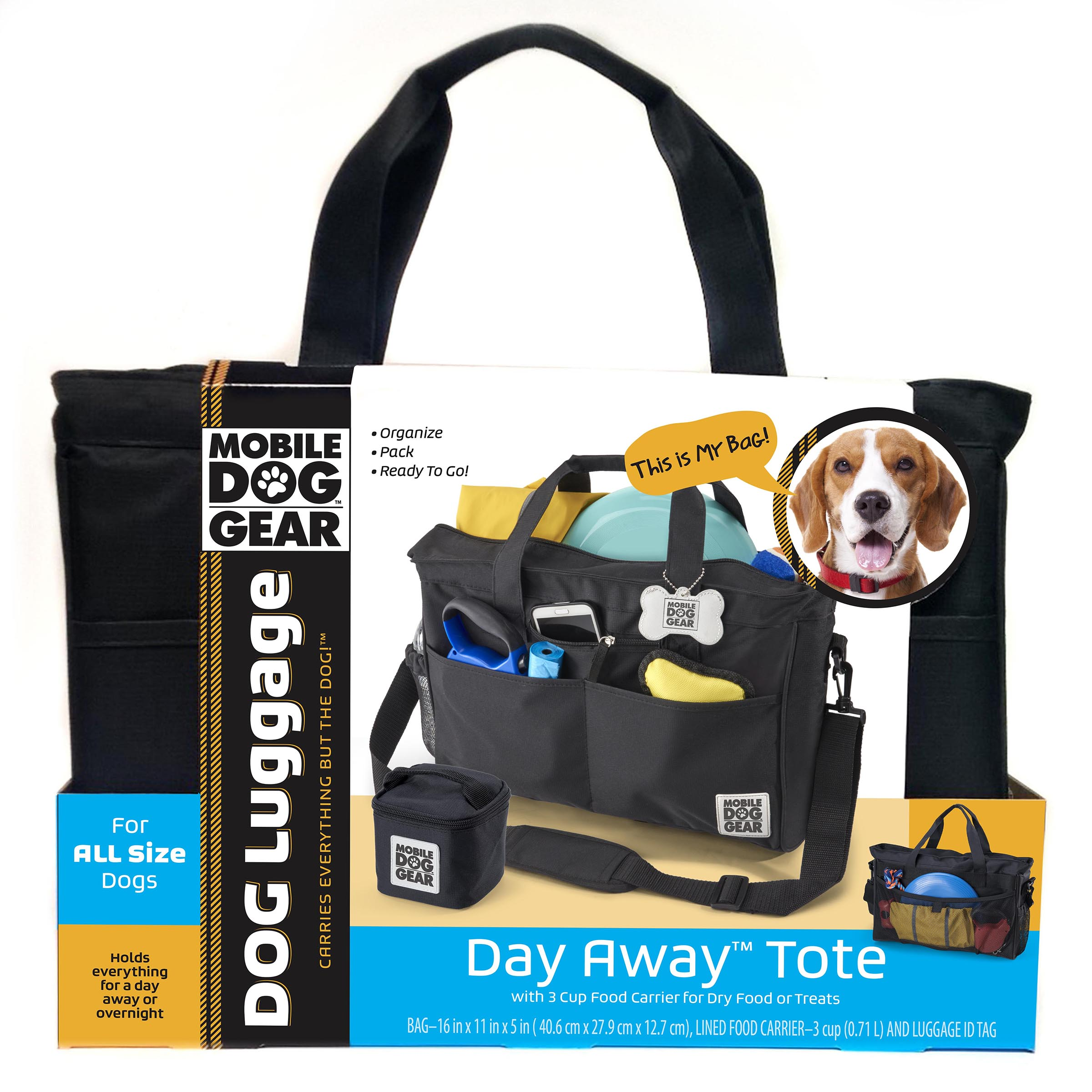 Day Away® Tote Bag (All Size Dogs